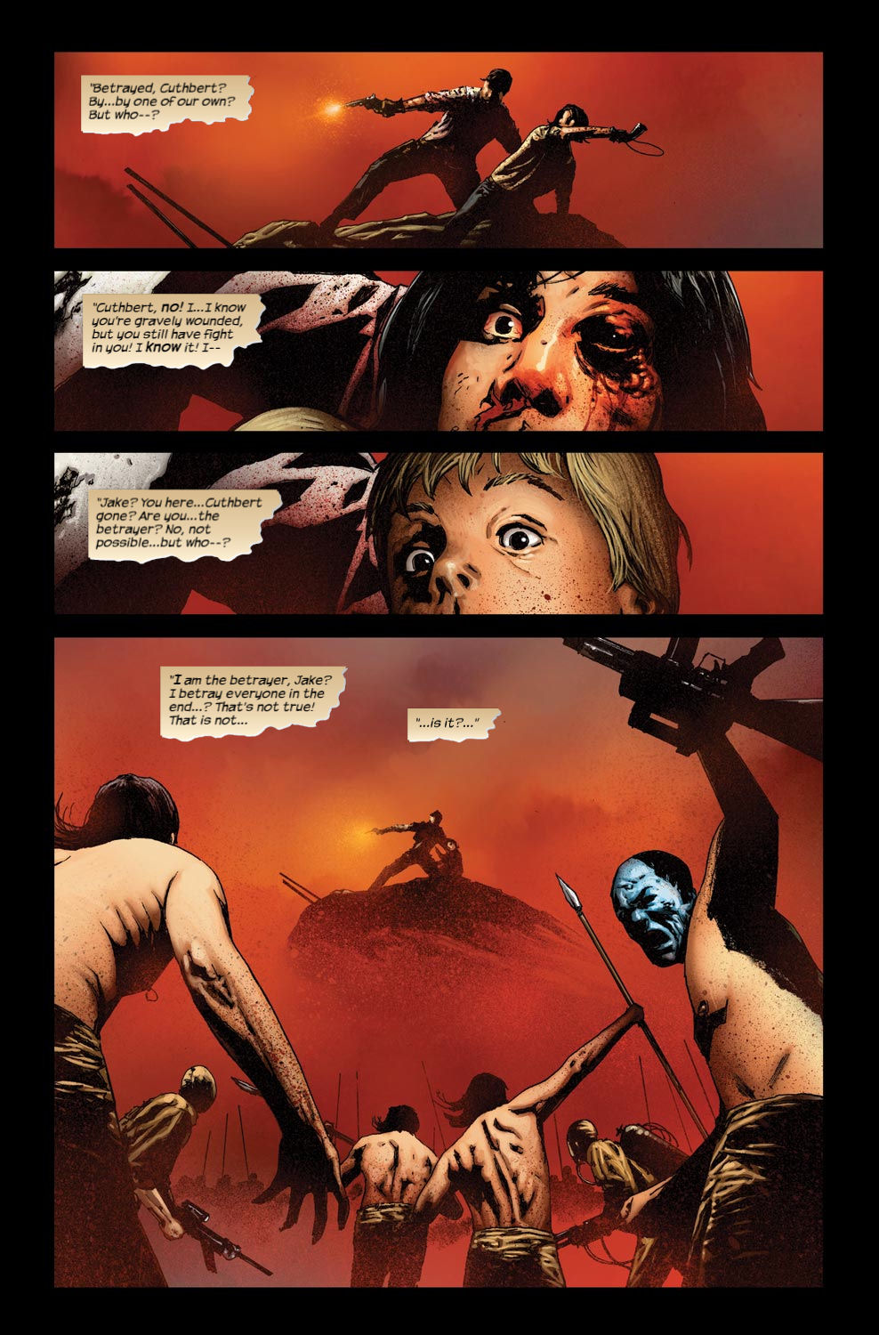 Read online Dark Tower: The Gunslinger - The Way Station comic -  Issue #3 - 5