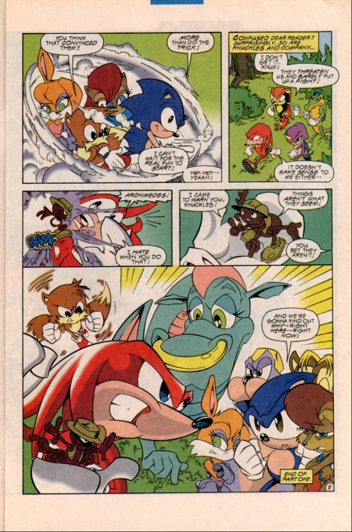 Read online Sonic Super Special comic -  Issue #1 - Sonic Vs. Knuckles Battle Royal - 11