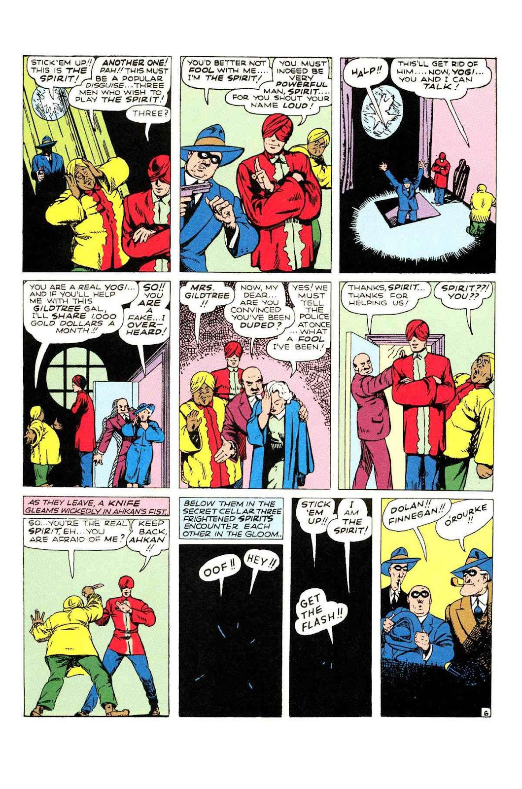 Read online Will Eisner's The Spirit Archives comic -  Issue # TPB 2 (Part 1) - 46