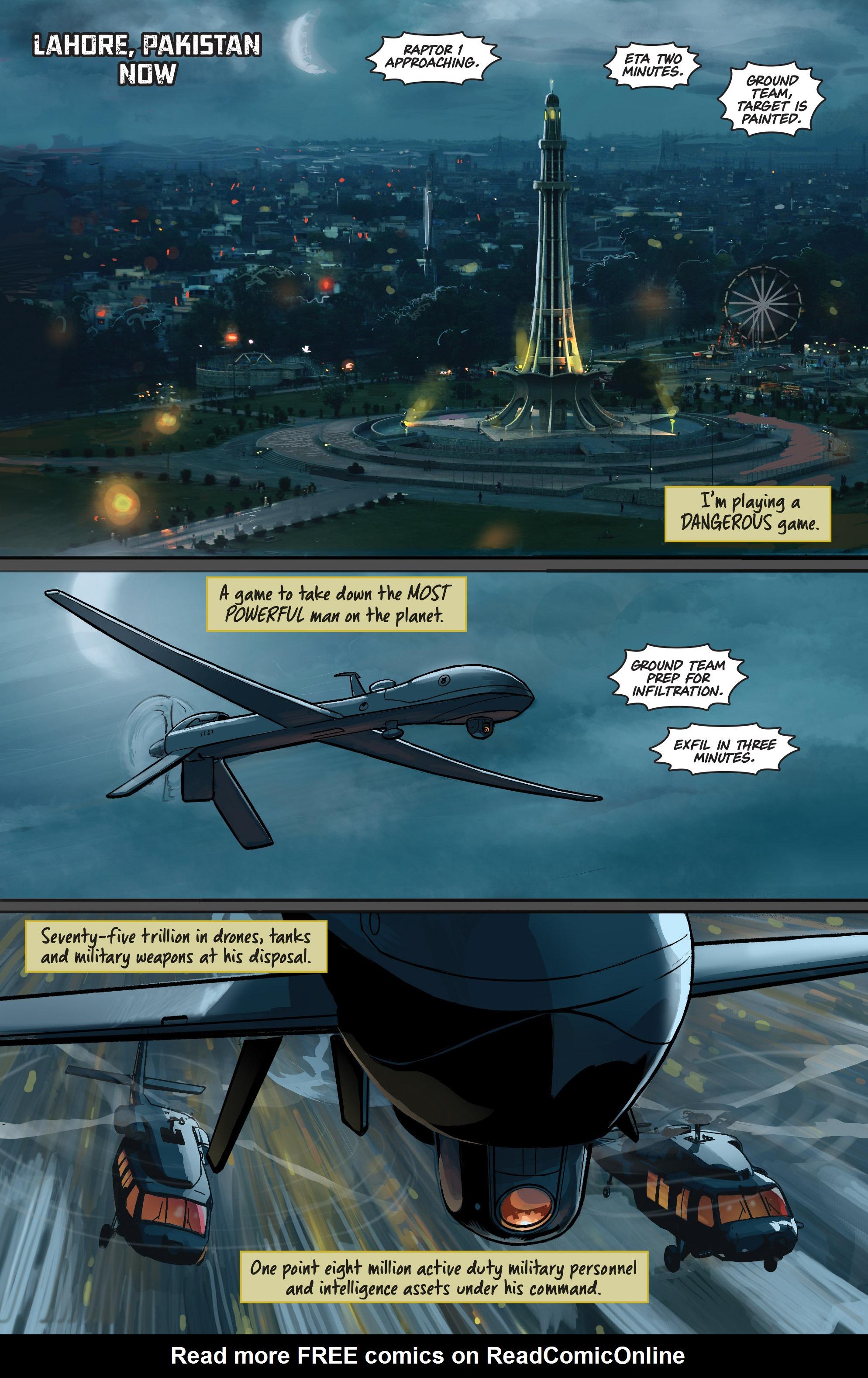 Read online Samaritan: Vertias comic -  Issue #1 - 3