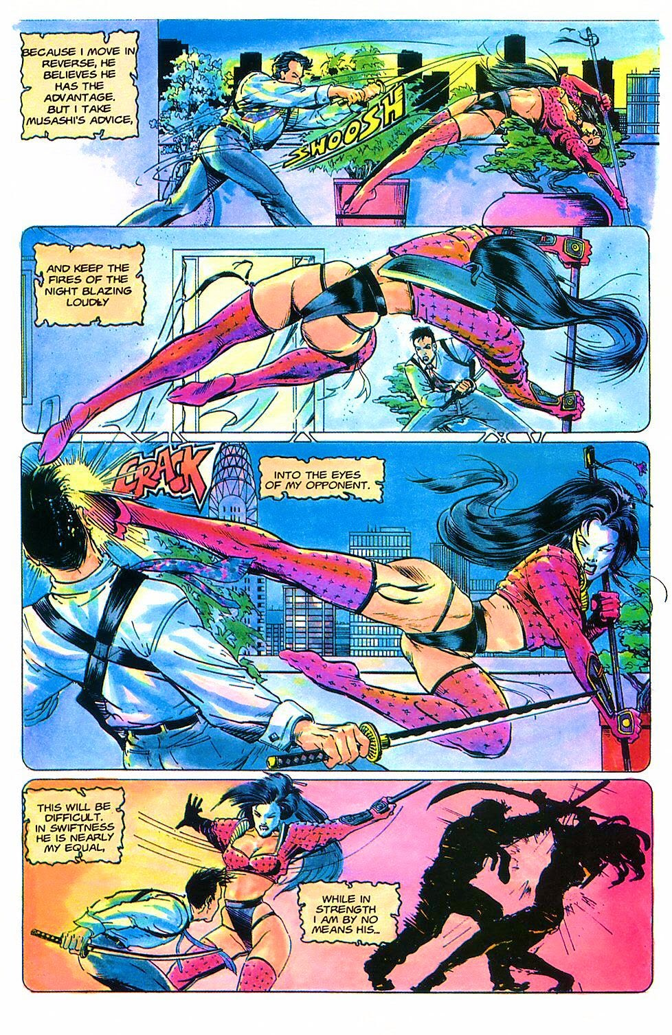 Read online Shi: The Way of the Warrior comic -  Issue #2 - 25