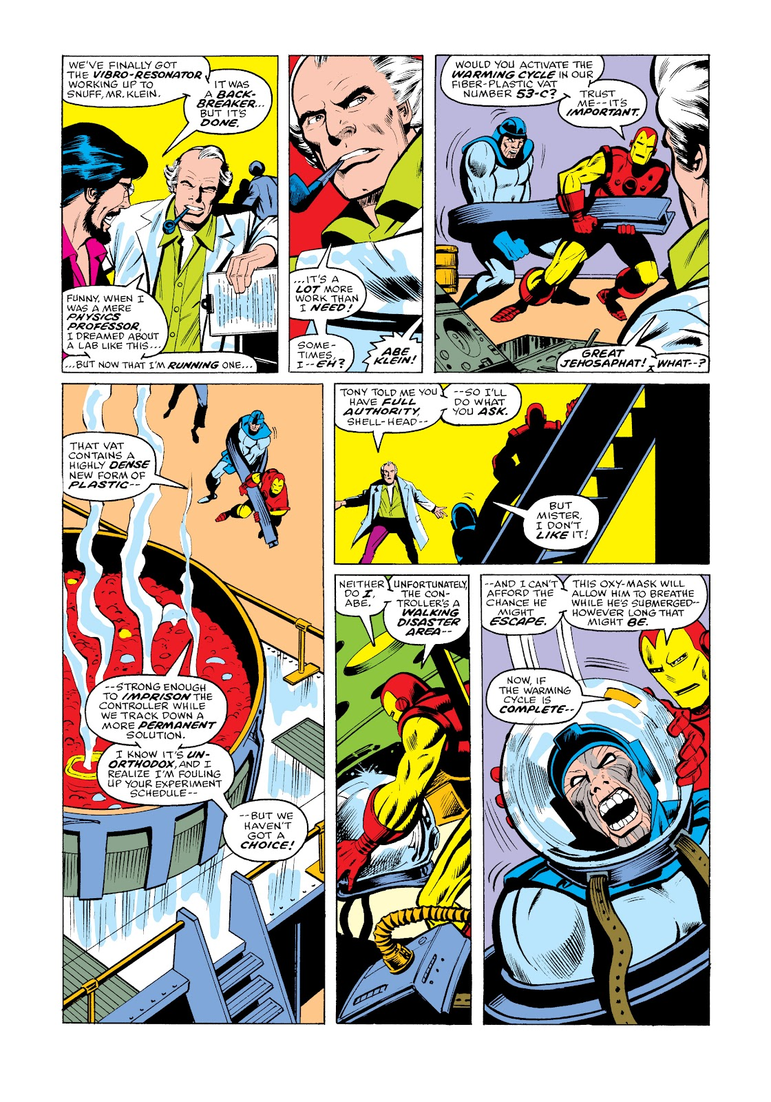 Read online Marvel Masterworks: The Invincible Iron Man comic -  Issue # TPB 11 (Part 3) - 14