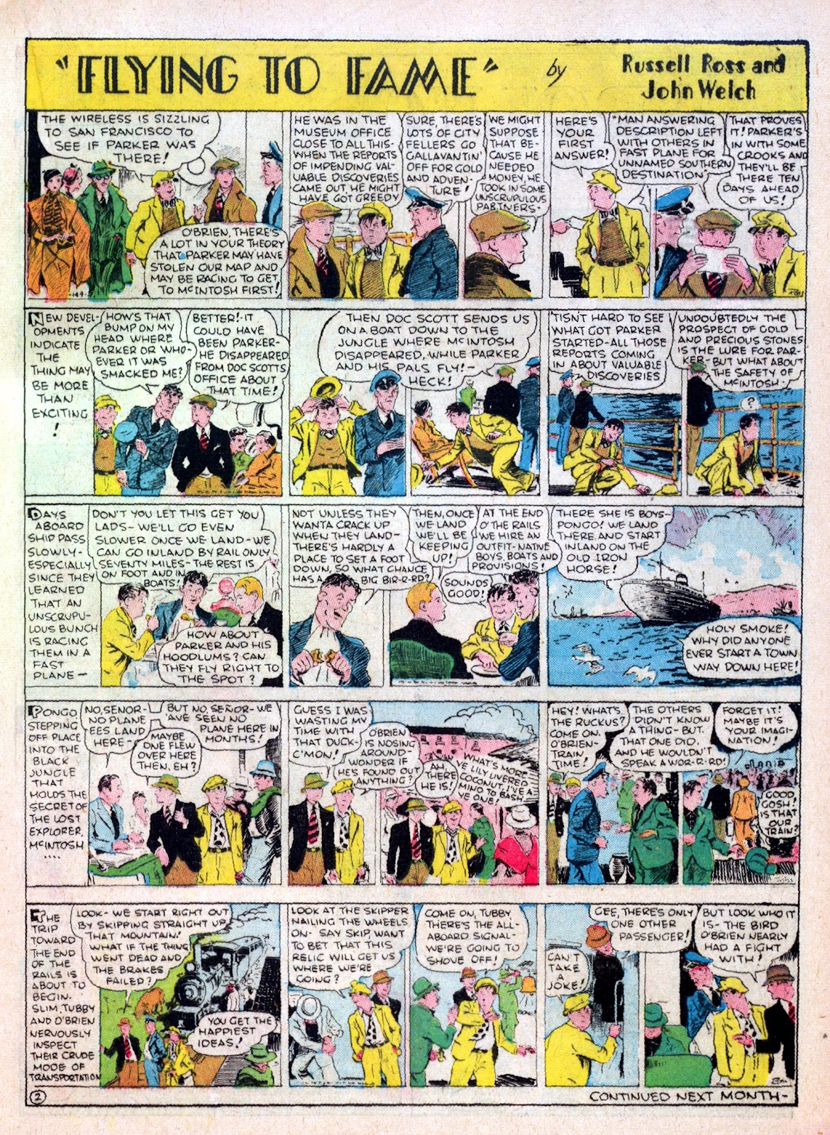 Read online Famous Funnies comic -  Issue #16 - 31
