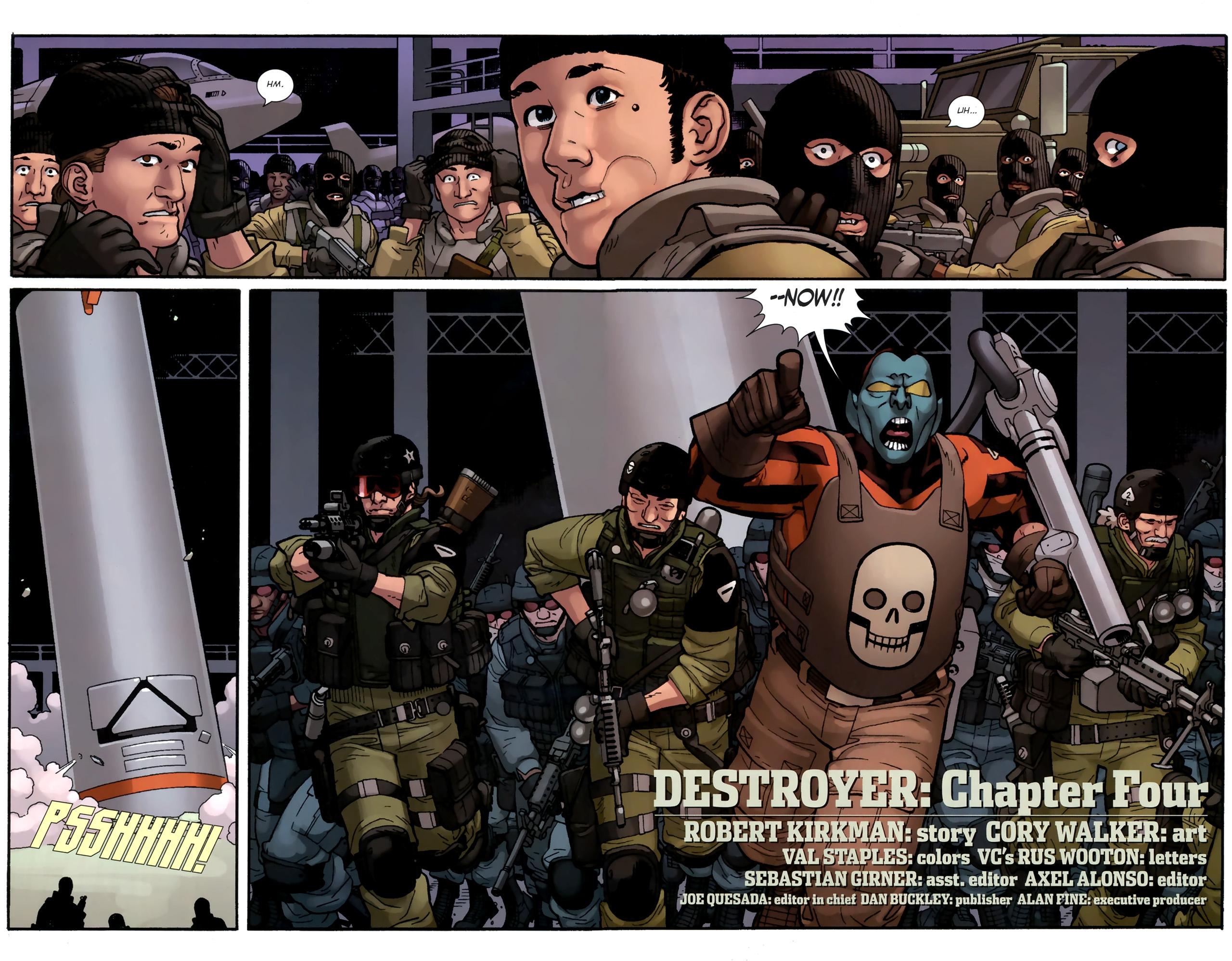 Read online Destroyer comic -  Issue #4 - 7