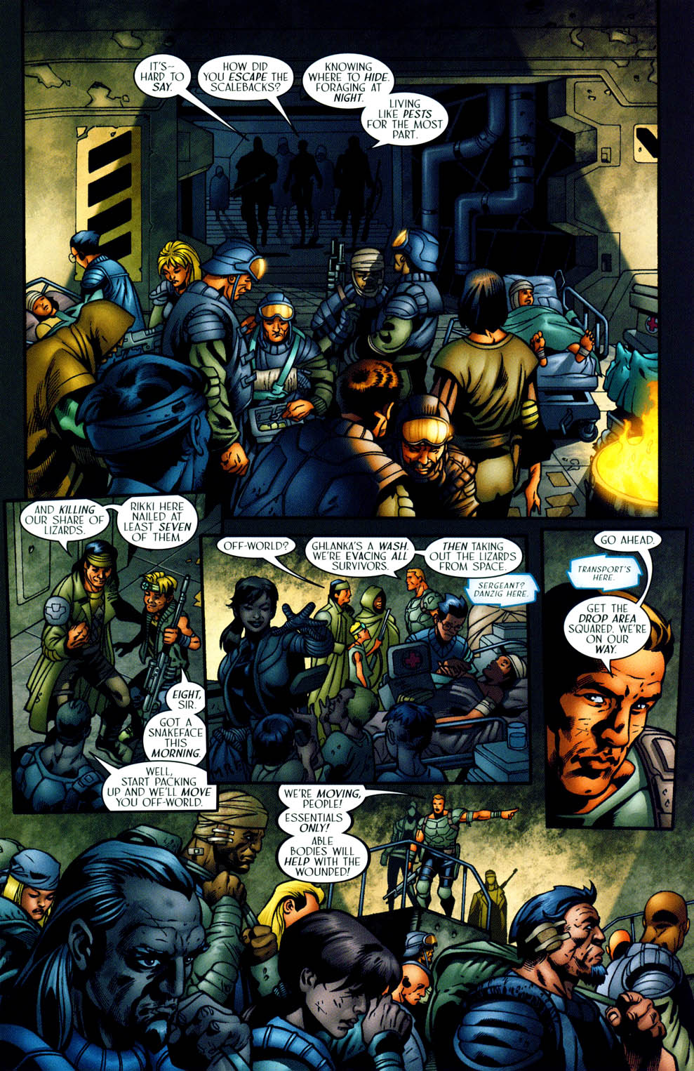 Read online Sigil (2000) comic -  Issue #35 - 12