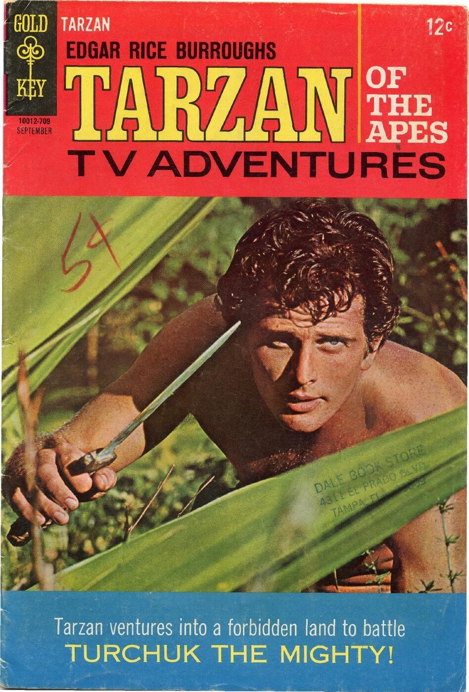 Tarzan (1962) issue 171 - Page 1