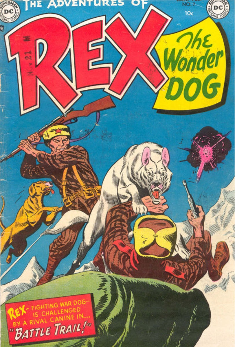 The Adventures of Rex the Wonder Dog issue 7 - Page 1