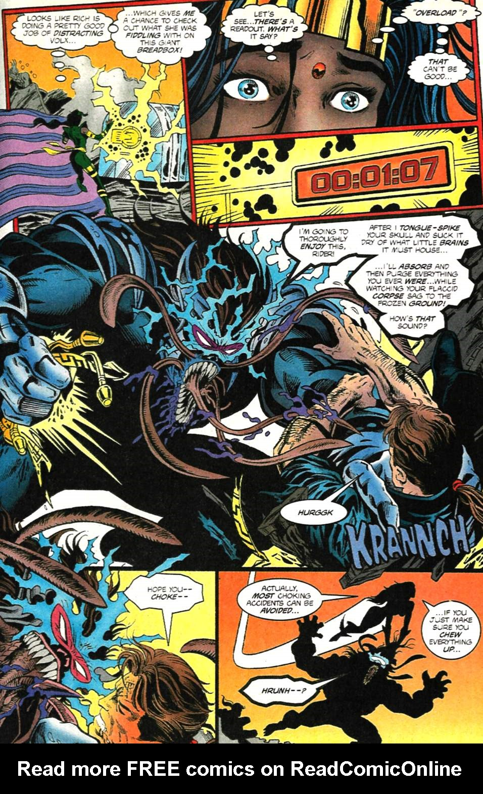 The New Warriors Issue #75 #79 - English 26