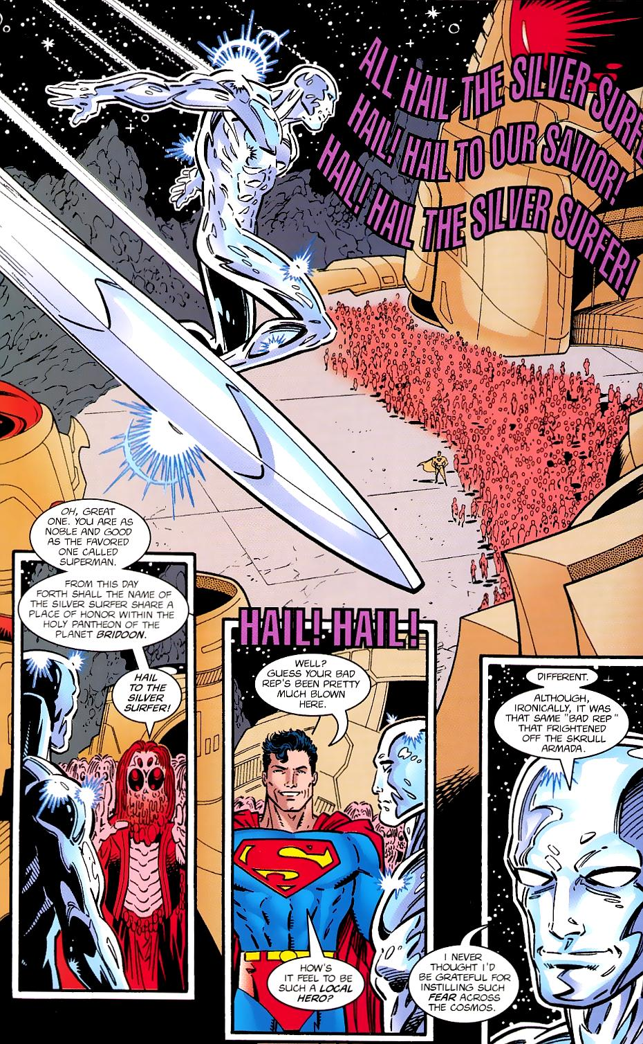Read online Silver Surfer/Superman comic -  Issue # Full - 46