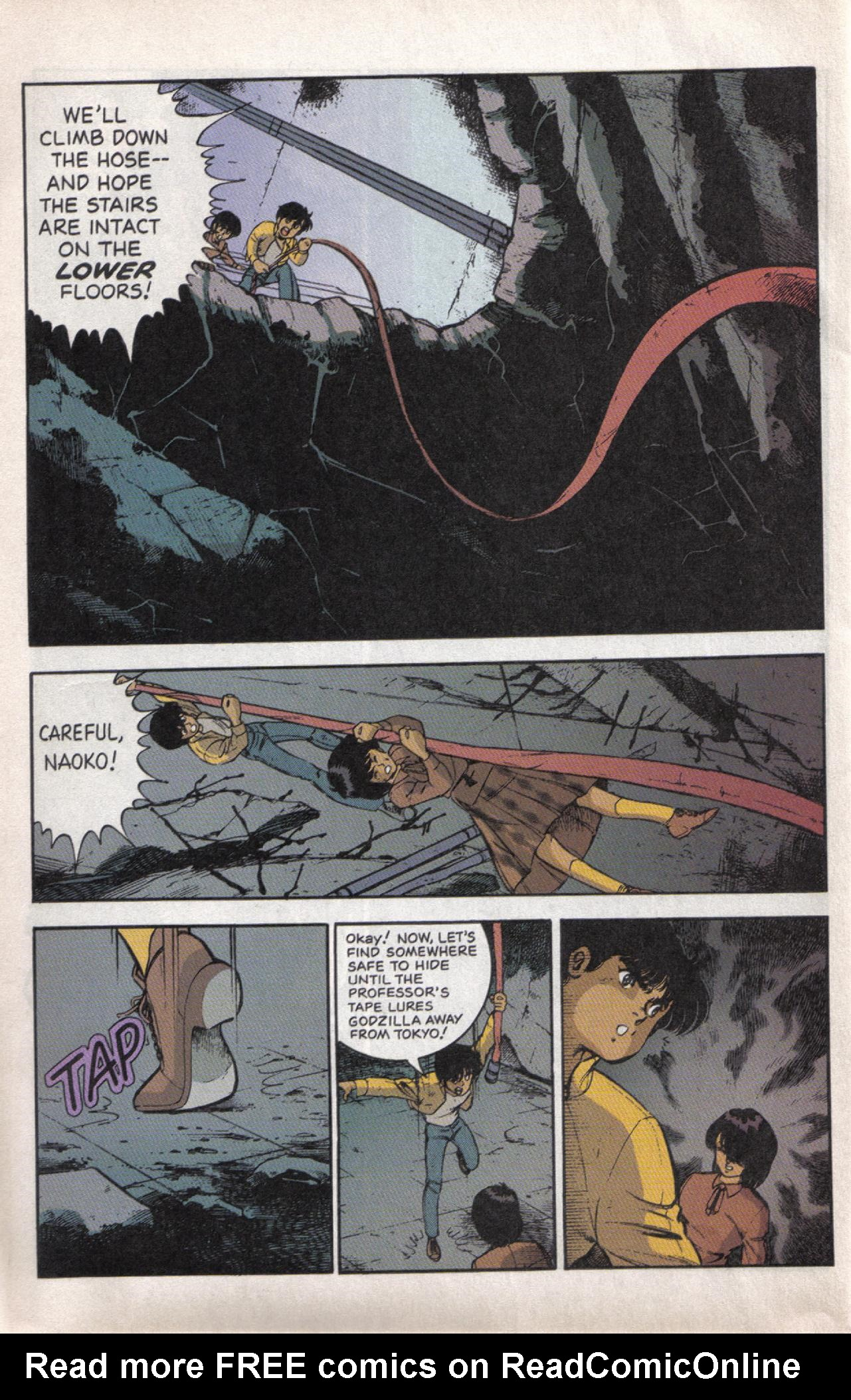 Read online Dark Horse Classics: Terror of Godzilla comic -  Issue #5 - 31
