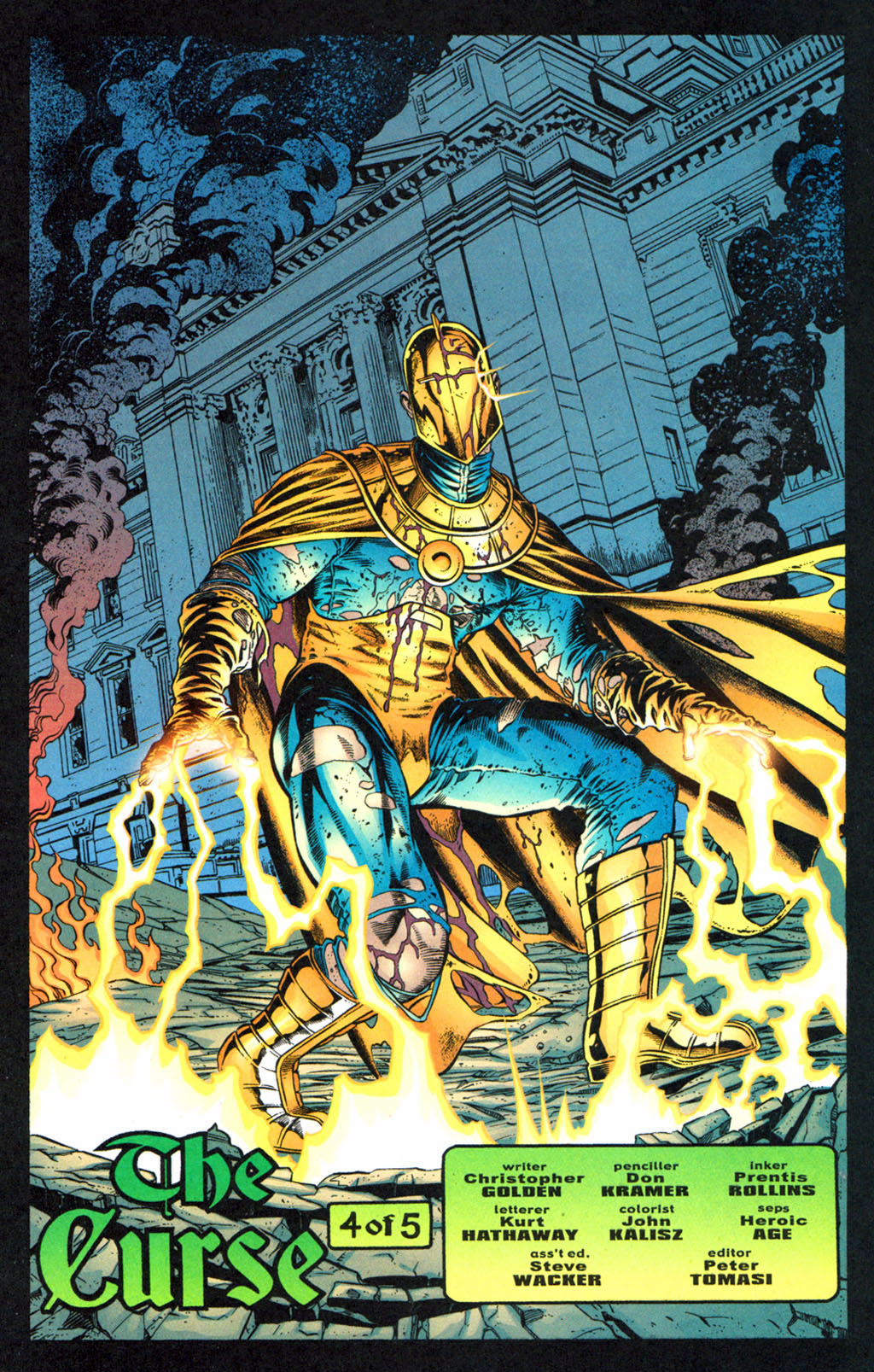 Read online Doctor Fate (2003) comic -  Issue #4 - 23