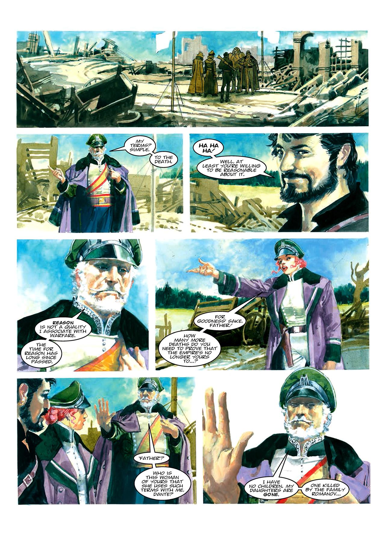 Read online Nikolai Dante comic -  Issue # TPB 10 - 34