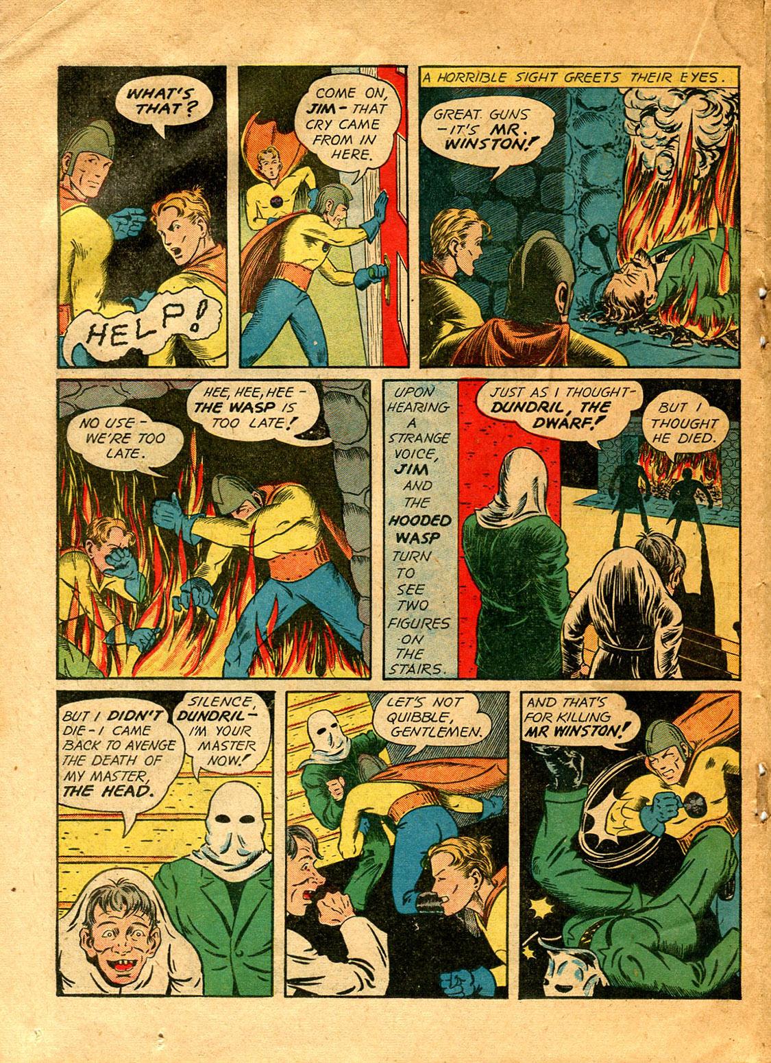 Read online Shadow Comics comic -  Issue #9 - 40