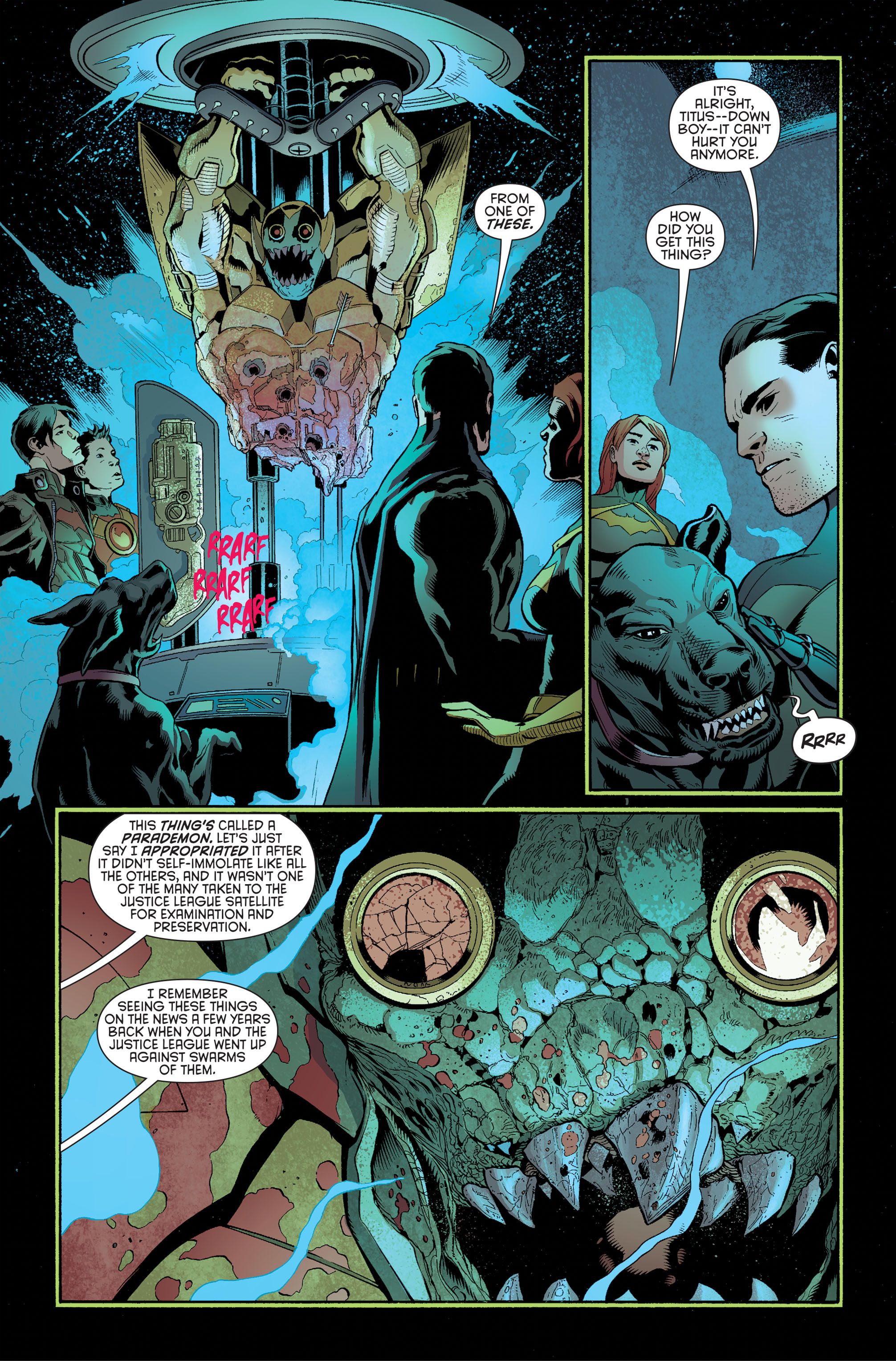Read online Batman and Robin (2011) comic -  Issue #34 - 7