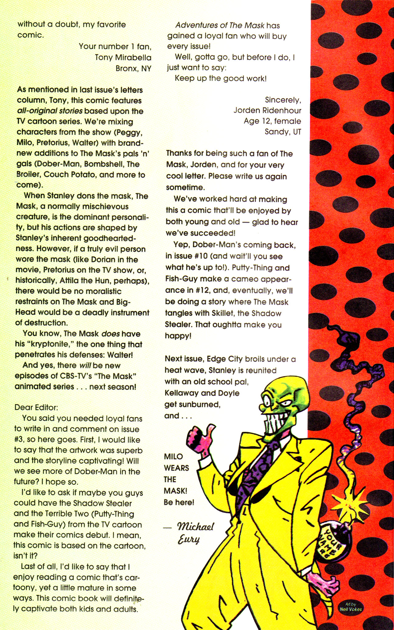 Read online Adventures Of The Mask comic -  Issue #7 - 26