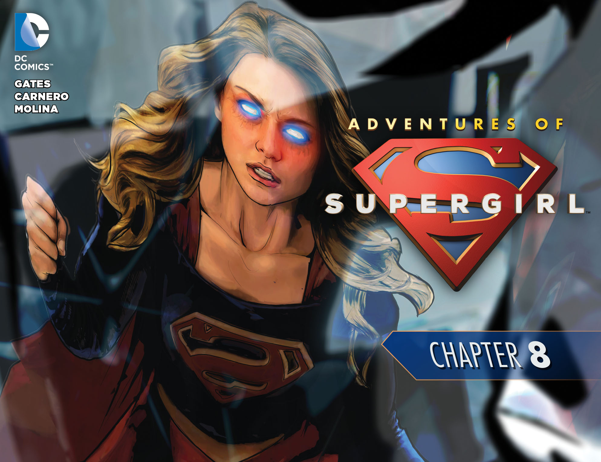 Adventures of Supergirl 8 Page 1