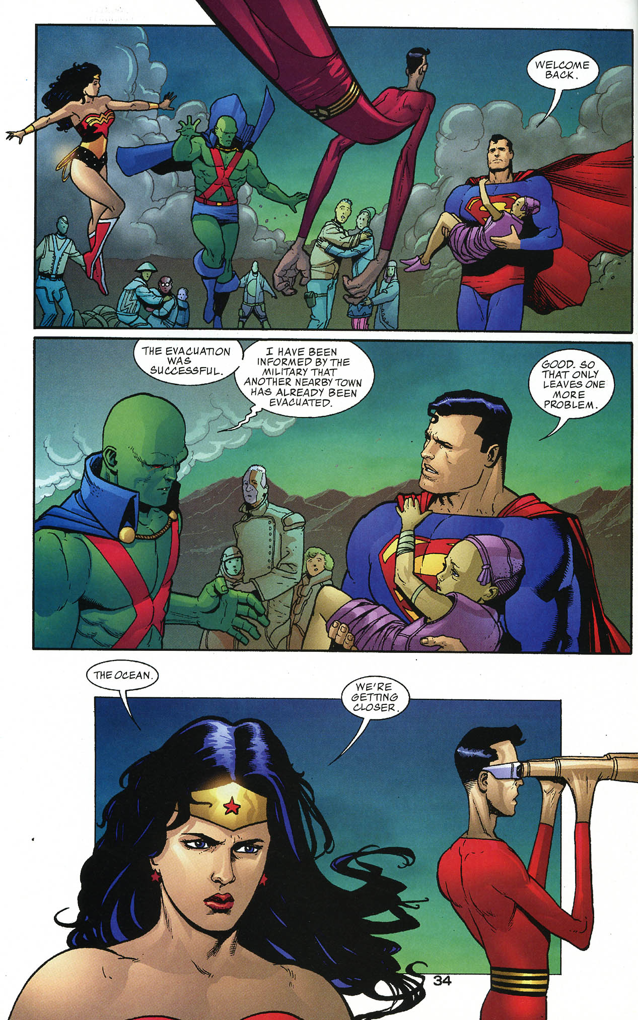 Read online JLA/Haven: Arrival comic -  Issue # Full - 33