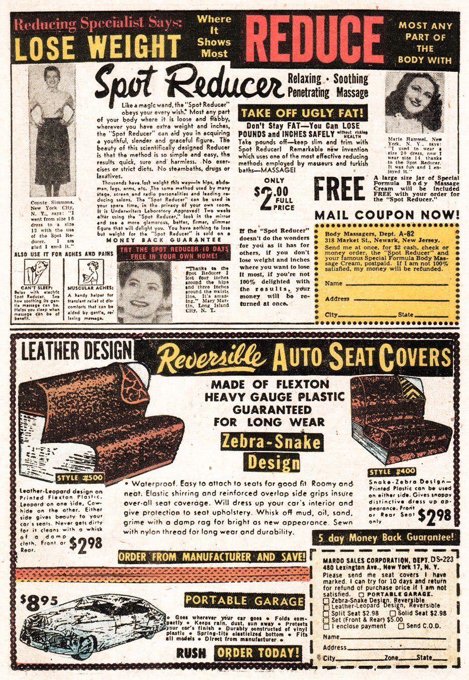 Love Romances (1949) issue 51 - Page 21