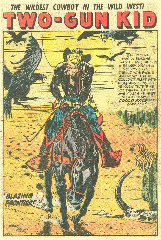 Read online Two-Gun Kid comic -  Issue #29 - 3