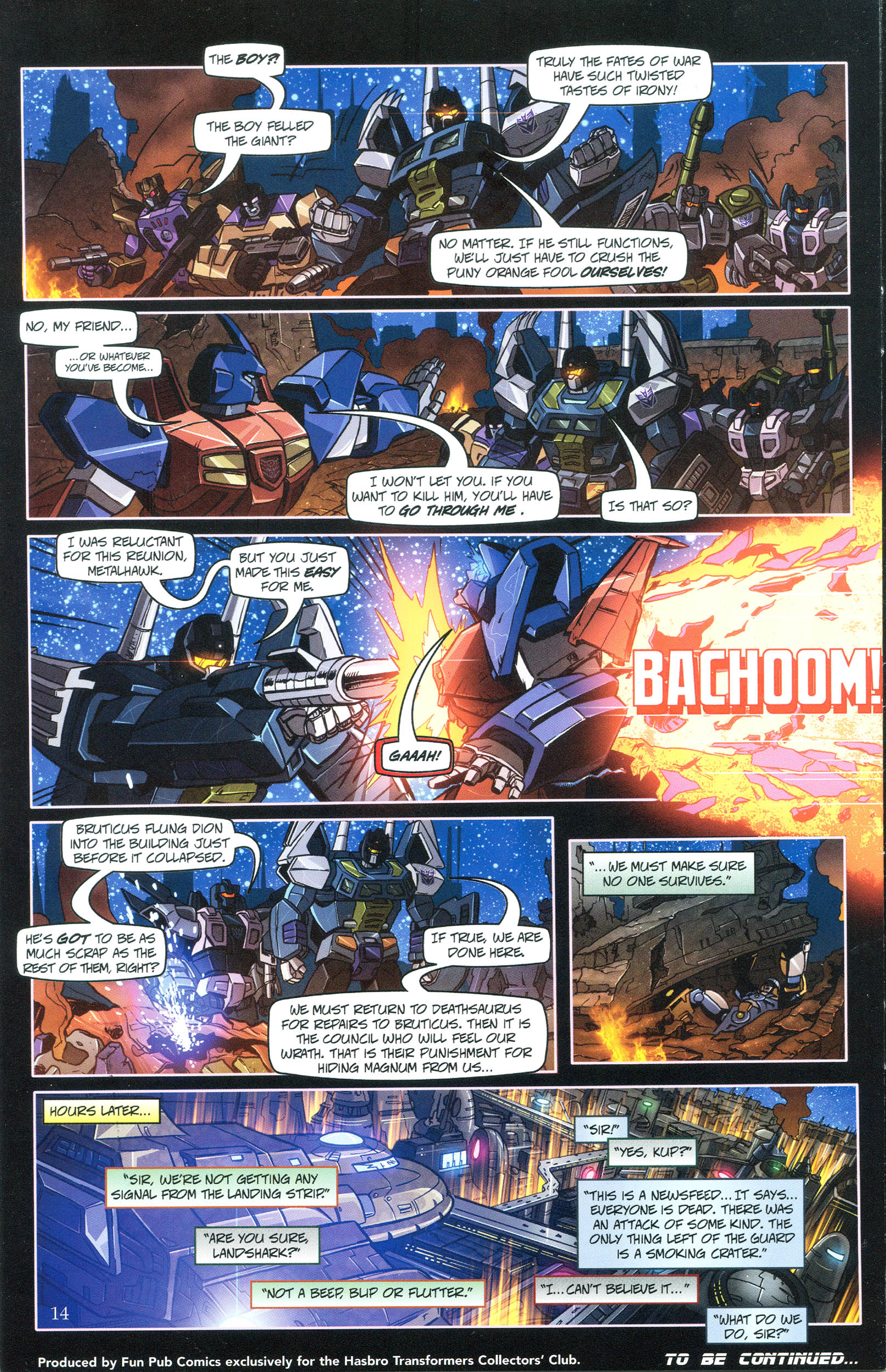 Read online Transformers: Collectors' Club comic -  Issue #36 - 14