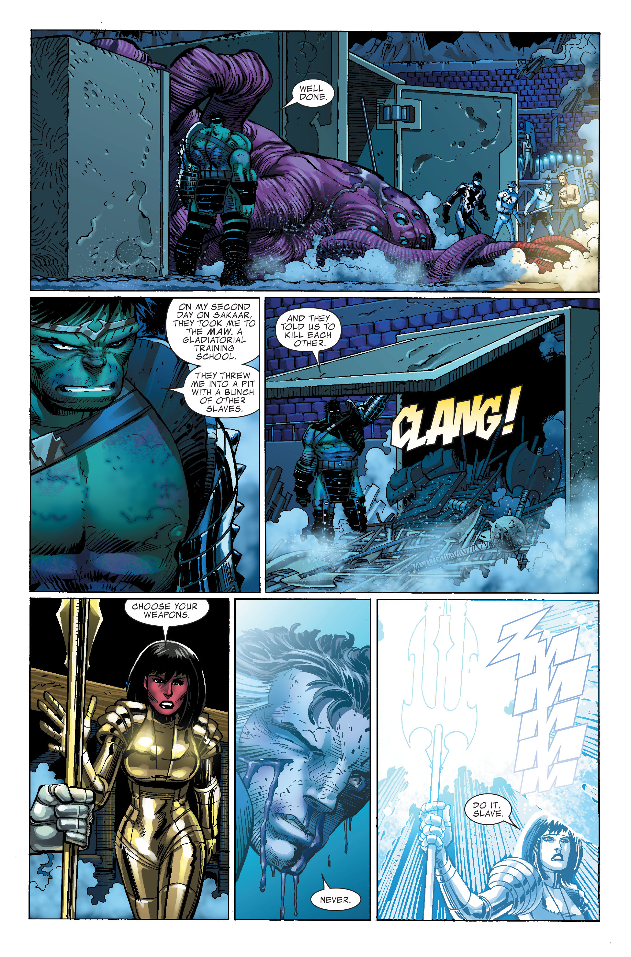 Read online World War Hulk comic -  Issue #4 - 23