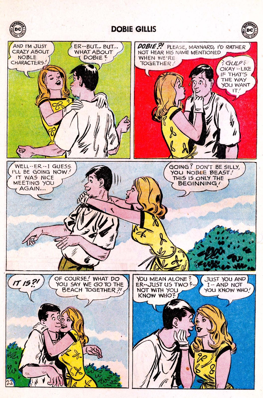 Many Loves of Dobie Gillis issue 21 - Page 28