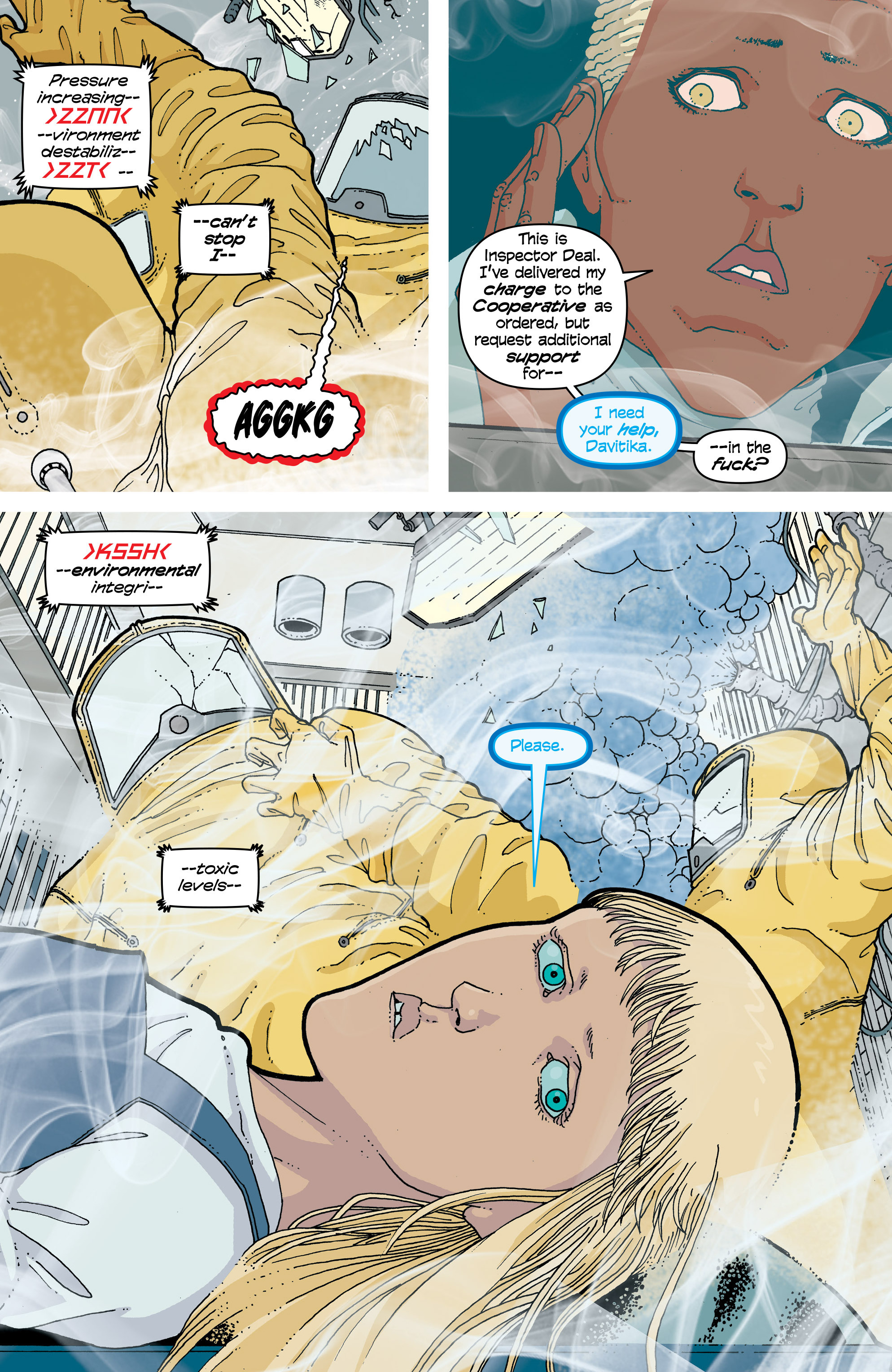 Read online Snowfall comic -  Issue #4 - 13