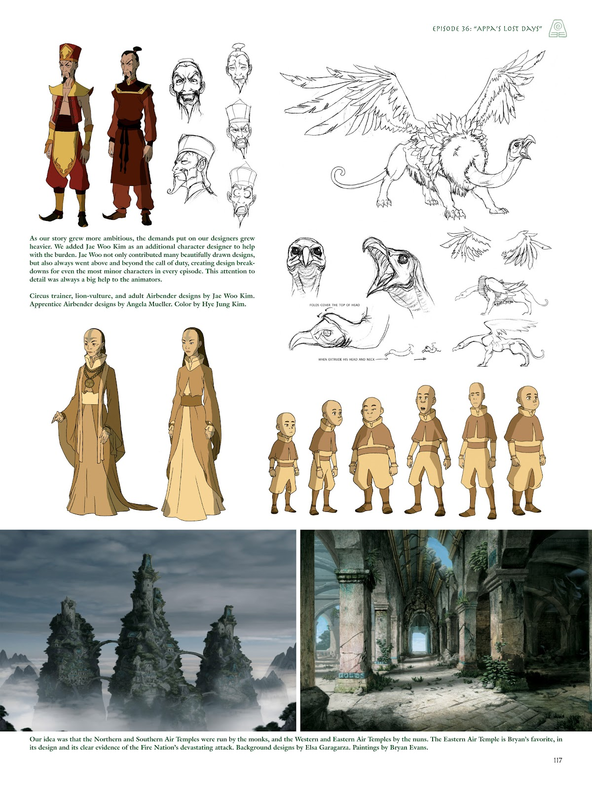 Read online Avatar: The Last Airbender - The Art of the Animated Series comic -  Issue # TPB (Part 2) - 16