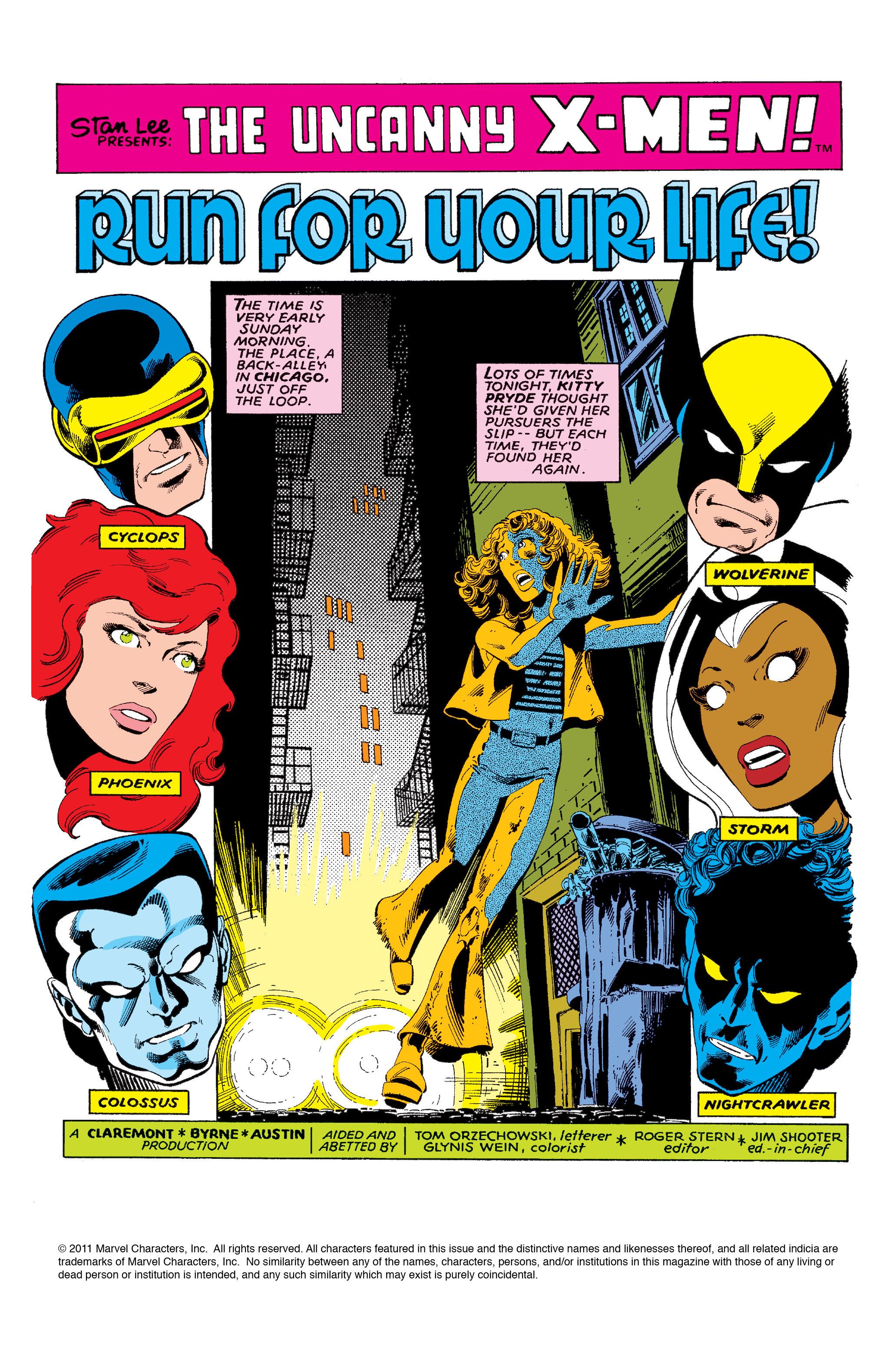 Uncanny X-Men (1963) 131 Page 1