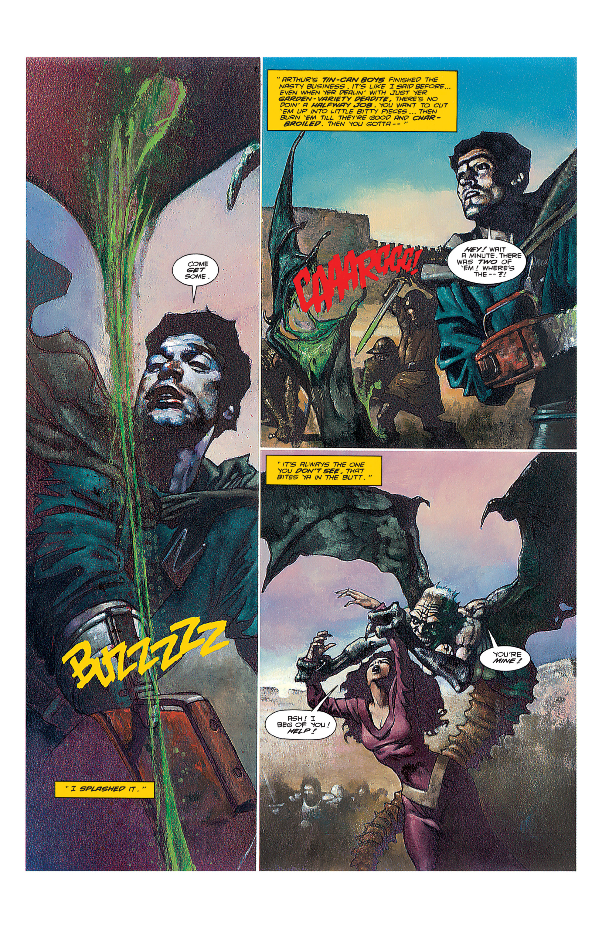 Read online Army of Darkness (1992) comic -  Issue #3 - 4