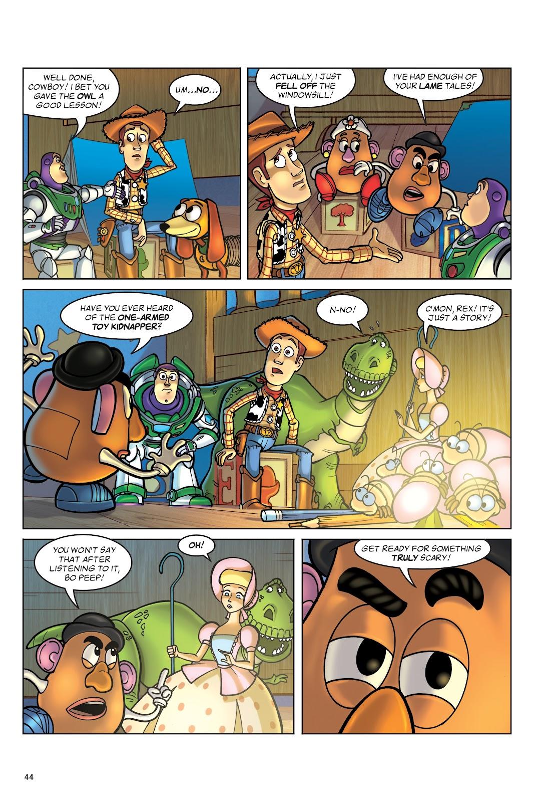 Read online DISNEY·PIXAR Toy Story Adventures comic -  Issue # TPB 1 (Part 1) - 44
