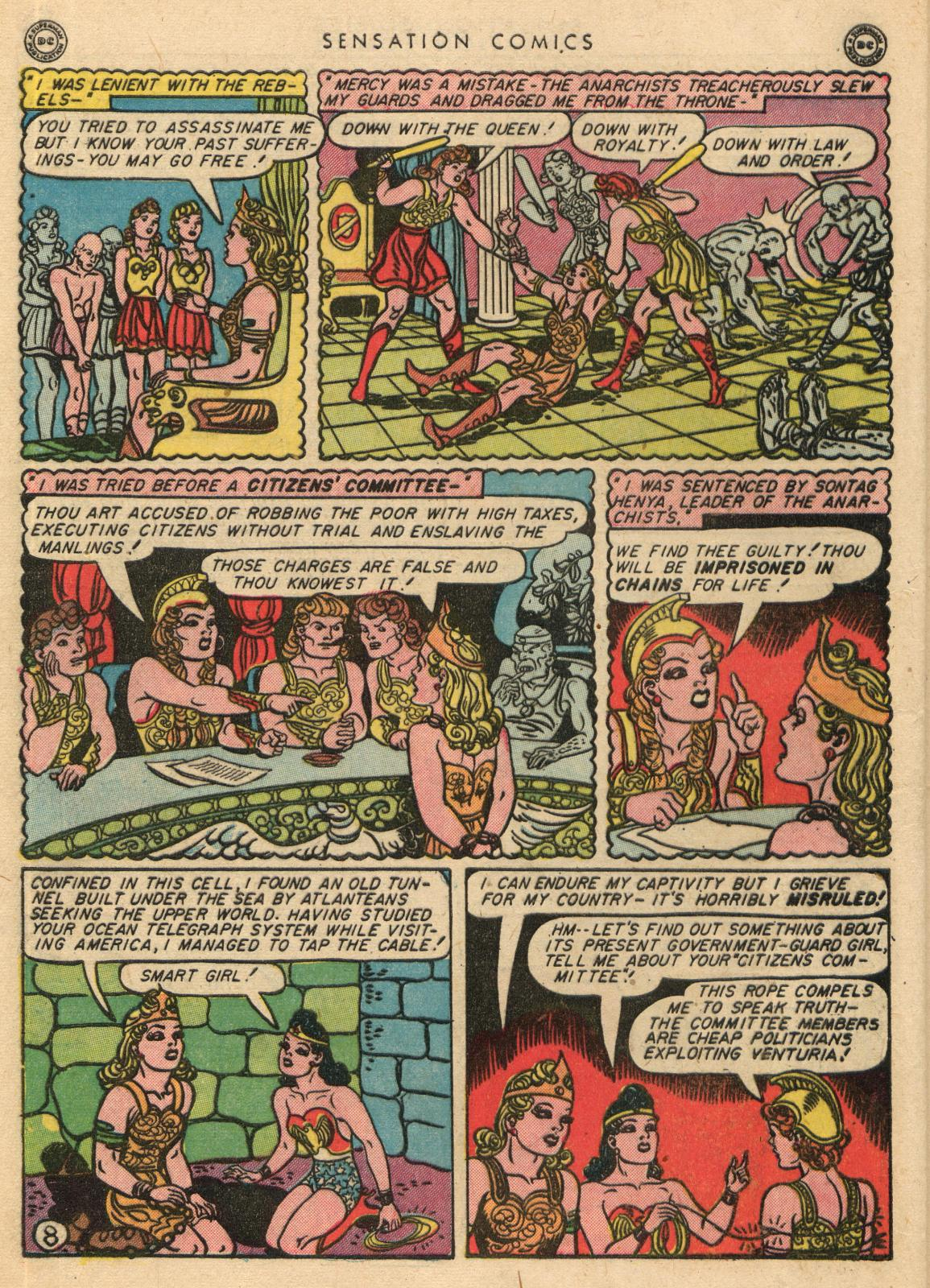 Read online Sensation (Mystery) Comics comic -  Issue #35 - 10