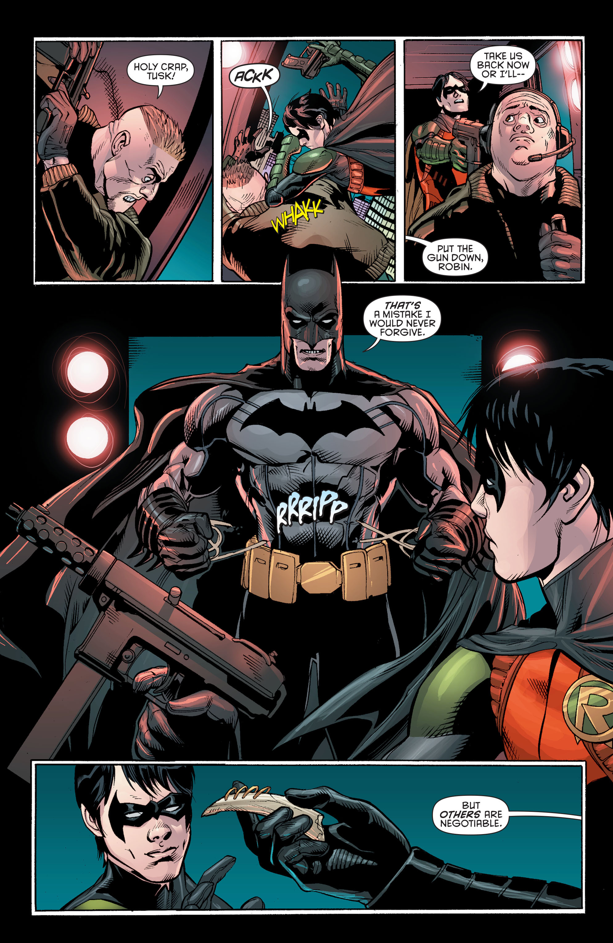 Read online Batman and Robin (2011) comic -  Issue # Annual 2 - 34