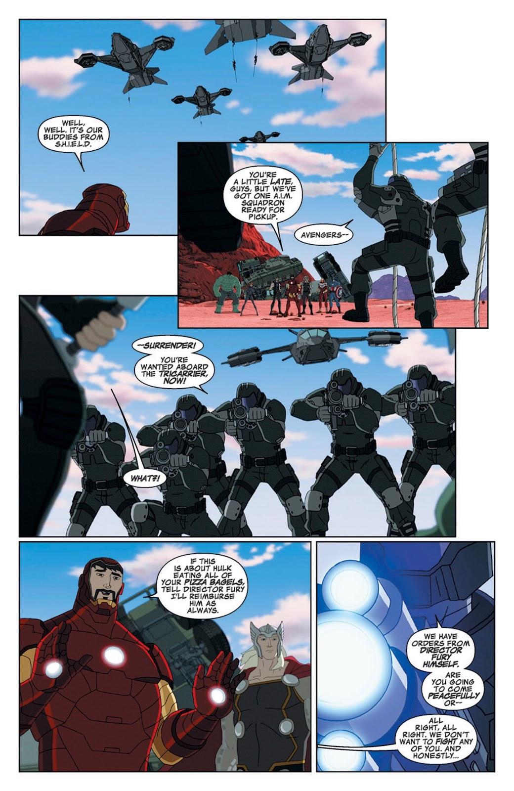 Read online Marvel Universe Avengers Assemble Season 2 comic -  Issue #8 - 6