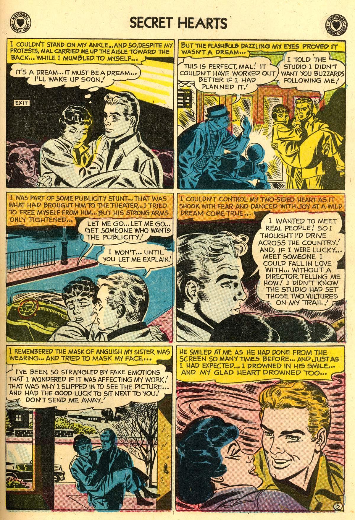 Read online Secret Hearts comic -  Issue #56 - 31