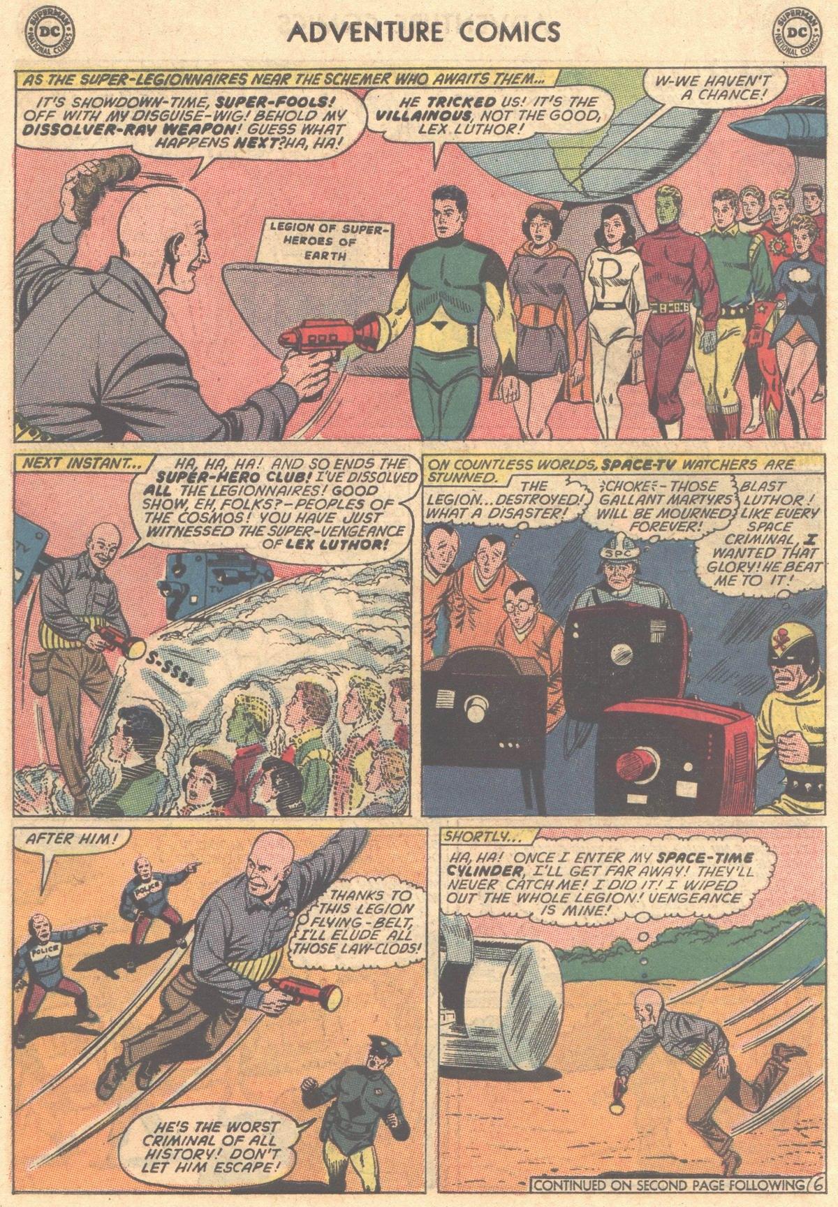 Read online Adventure Comics (1938) comic -  Issue #325 - 18