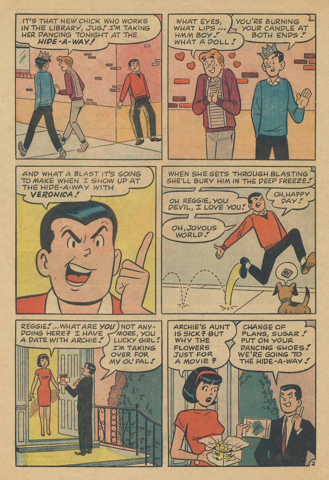 Read online Archie (1960) comic -  Issue #170 - 30