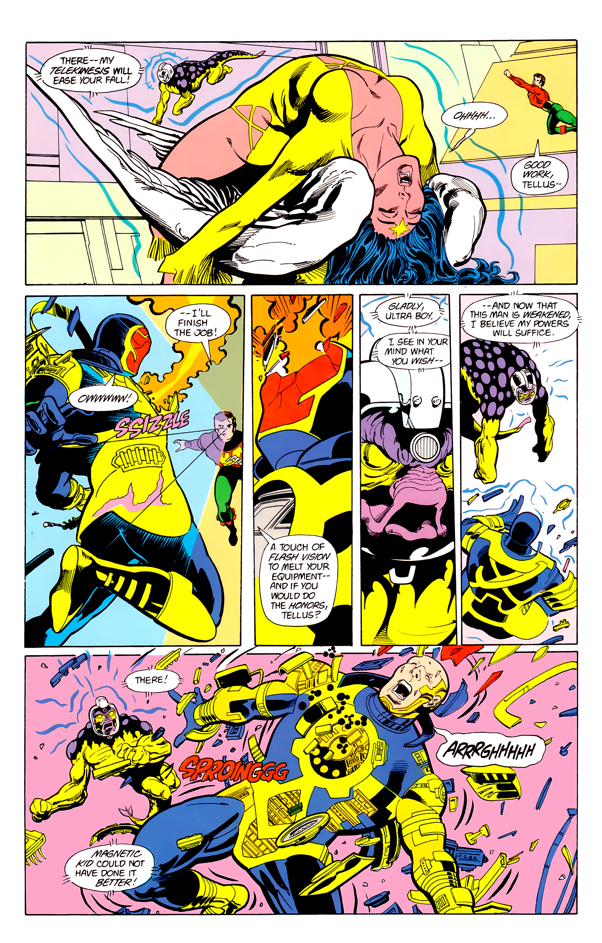 Legion of Super-Heroes (1984) 22 Page 25