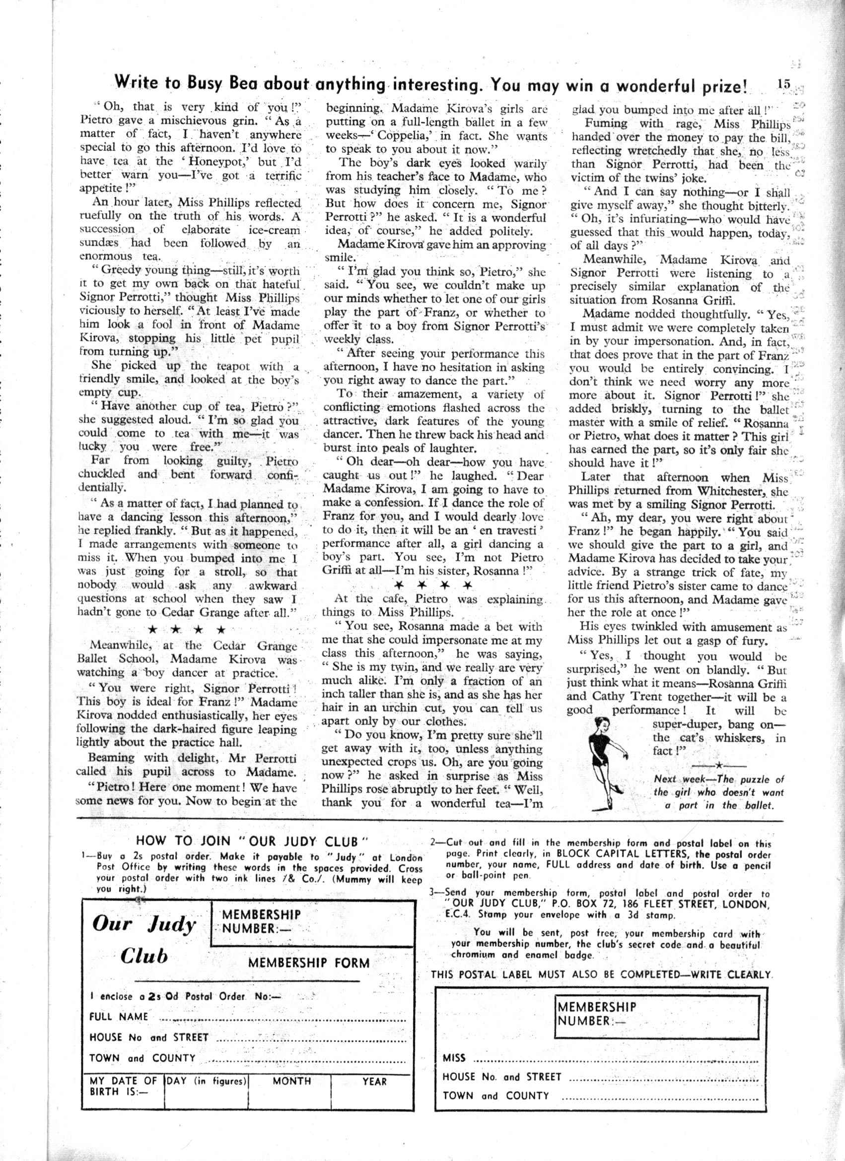 Read online Judy comic -  Issue #167 - 15
