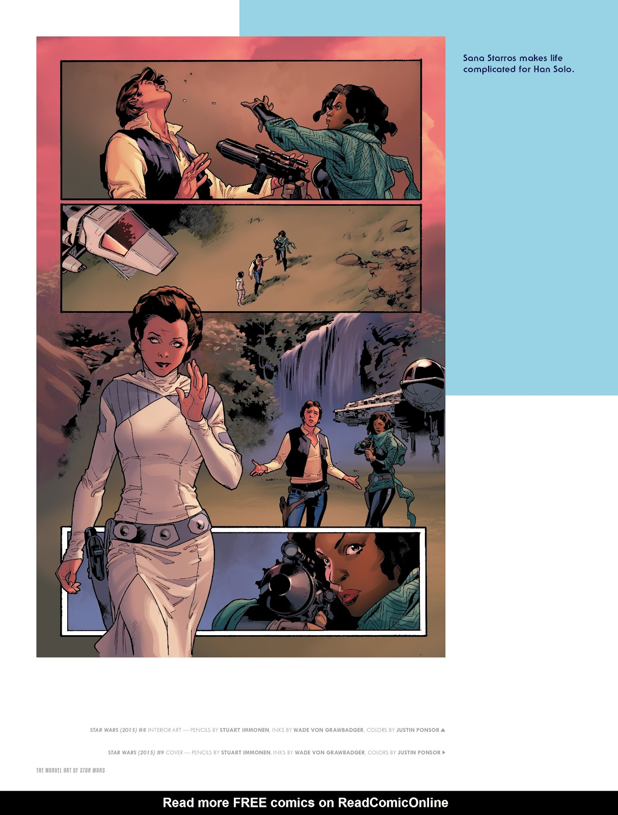 Read online The Marvel Art of Star Wars comic -  Issue # TPB (Part 1) - 40