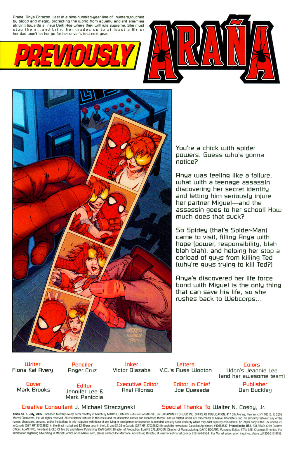 Read online Araña: Heart of the Spider comic -  Issue #5 - 2