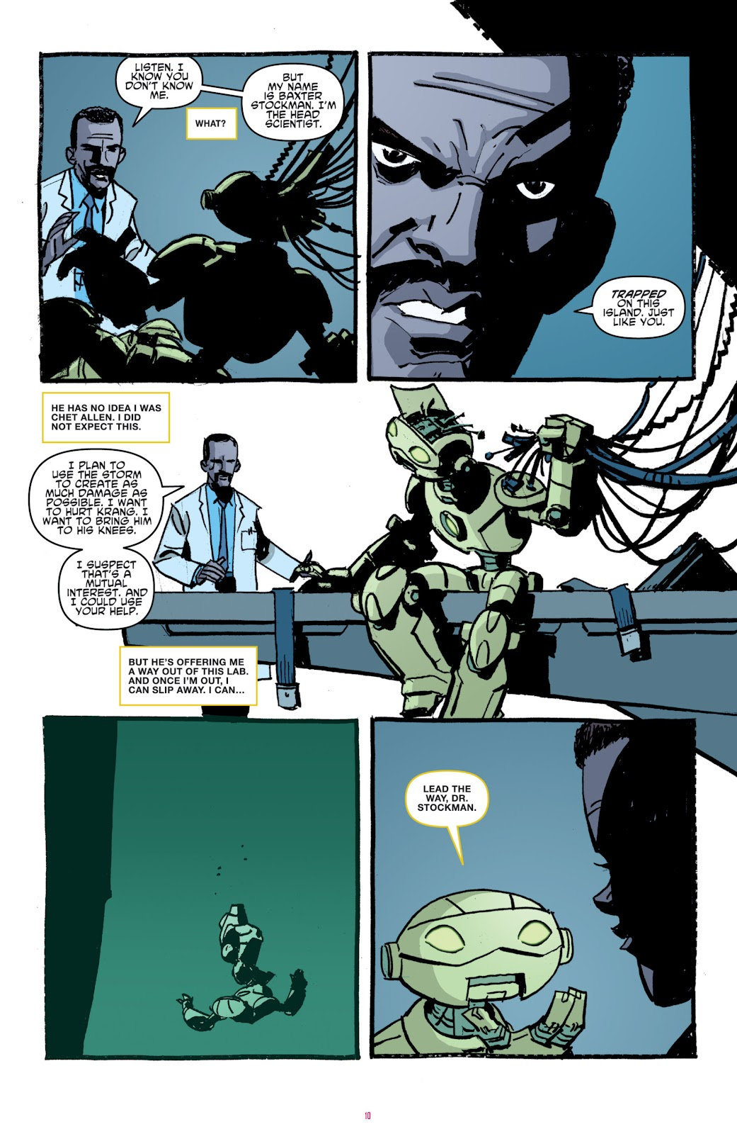 Read online Teenage Mutant Ninja Turtles: The IDW Collection comic -  Issue # TPB 4 (Part 1) - 39