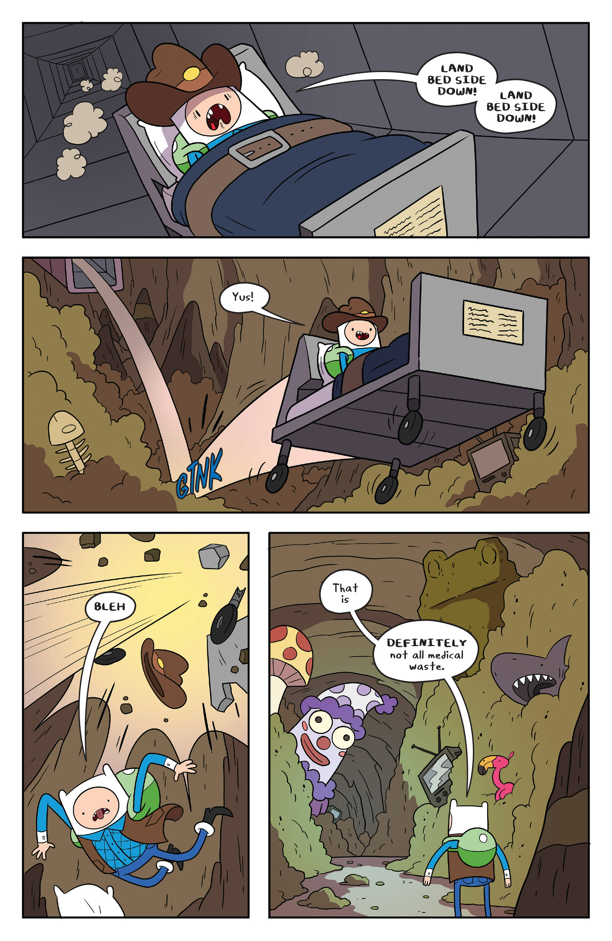 Read online Adventure Time comic -  Issue #55 - 13