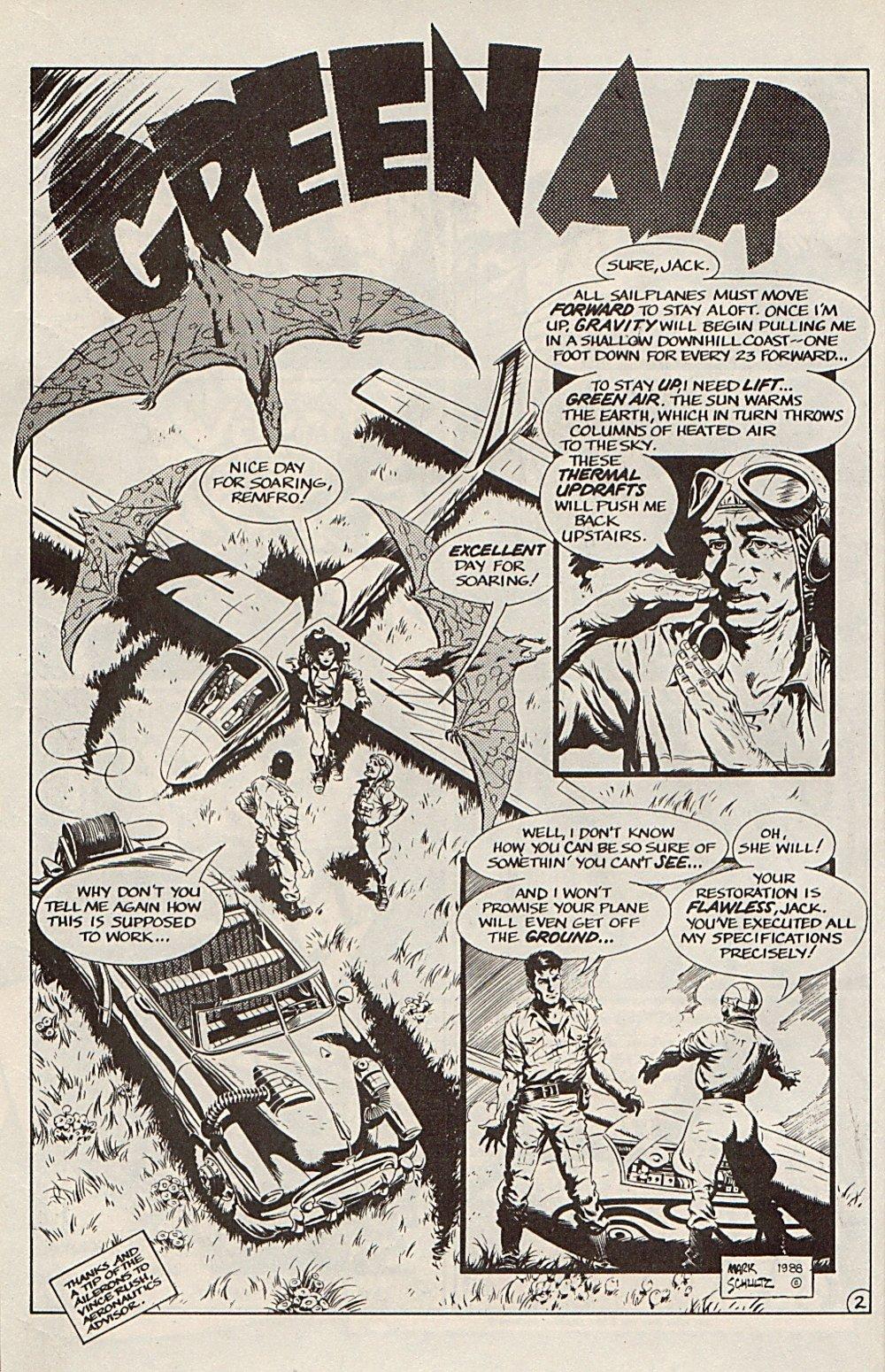 Read online Xenozoic Tales comic -  Issue #6 - 14