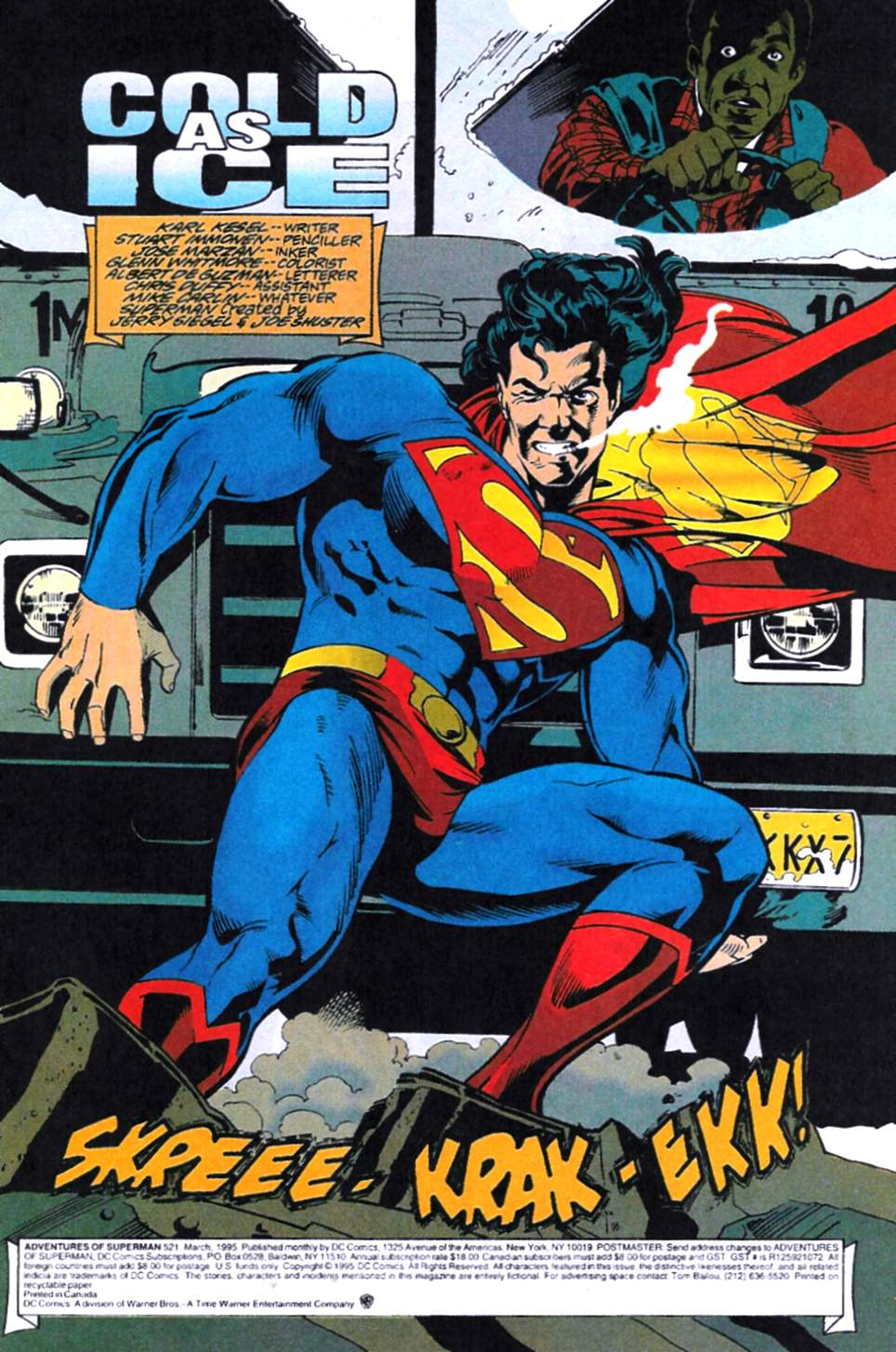 Read online Adventures of Superman (1987) comic -  Issue #521 - 2