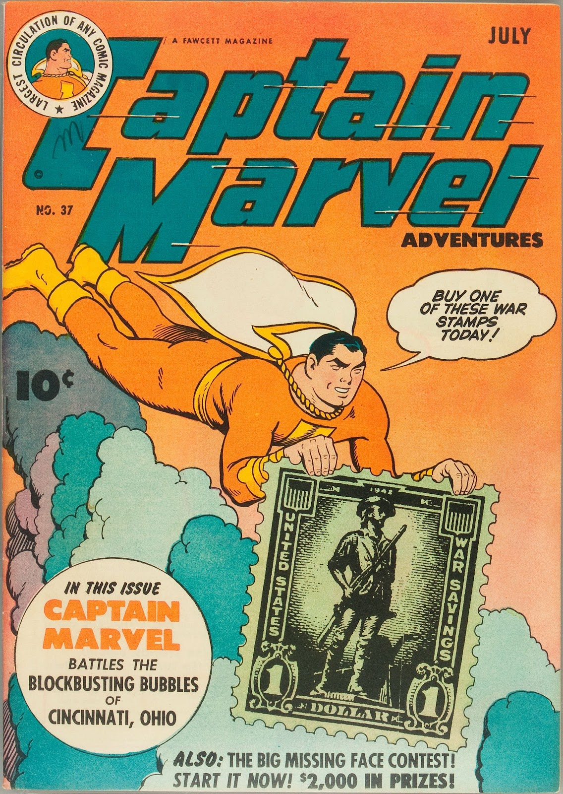 Captain Marvel Adventures issue 37 - Page 1