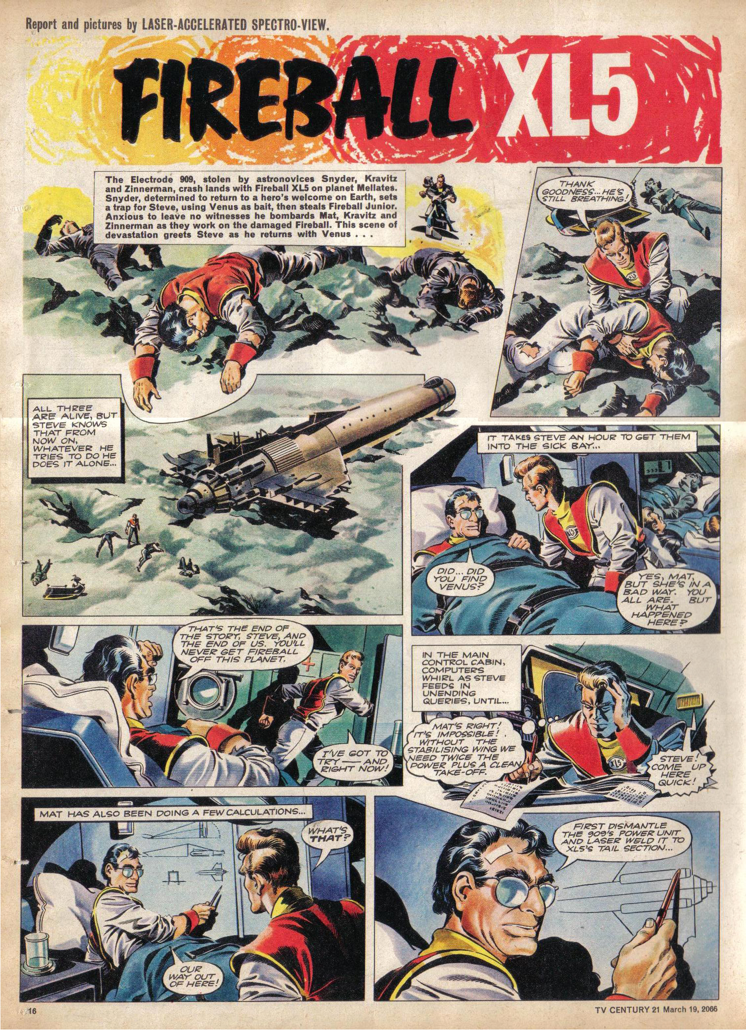 Read online TV Century 21 (TV 21) comic -  Issue #61 - 15