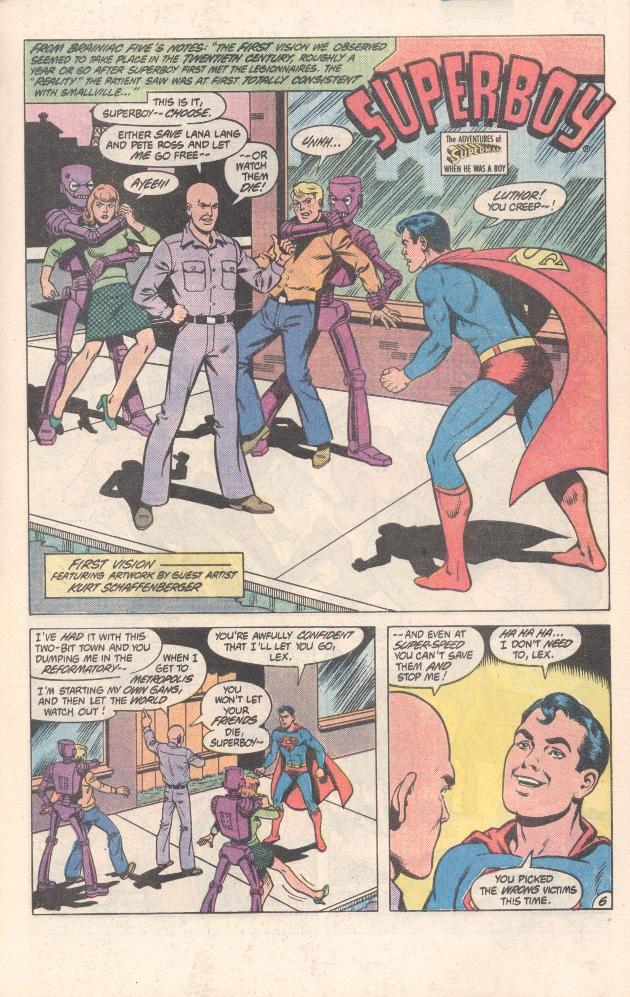 Legion of Super-Heroes (1980) 300 Page 6