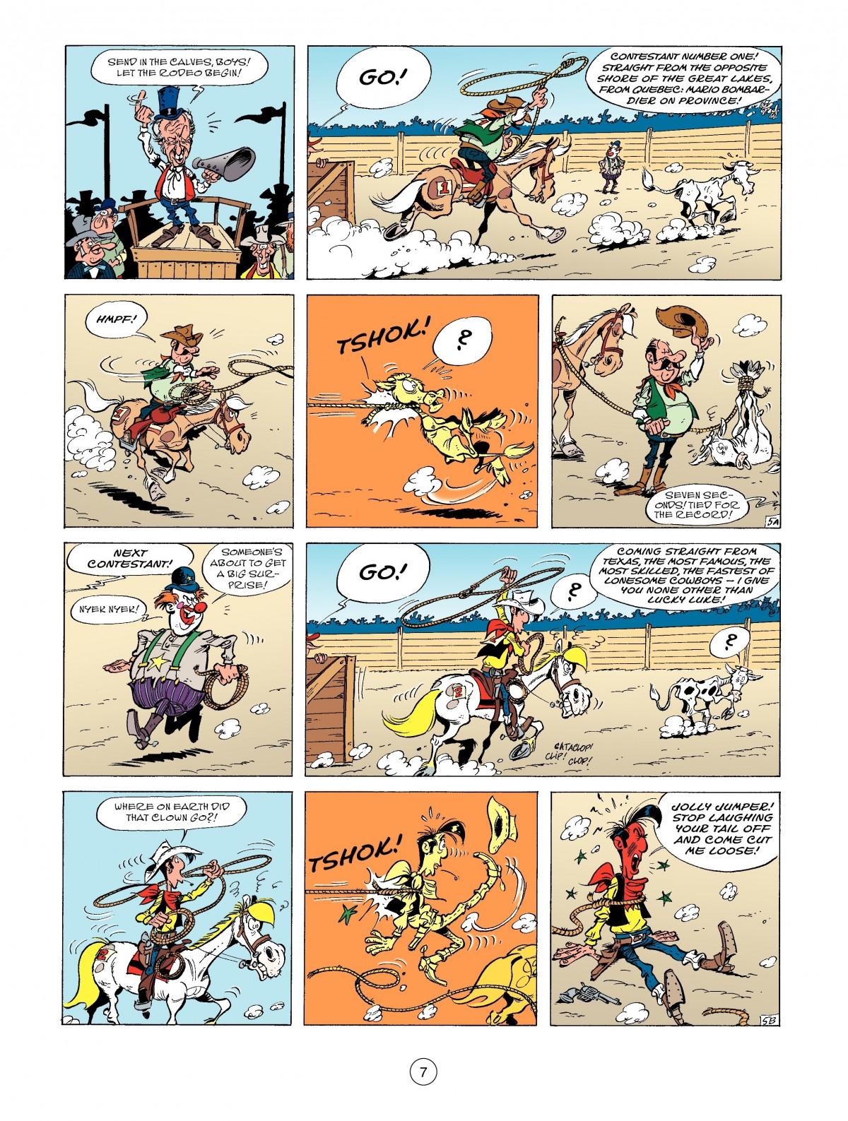 Read online A Lucky Luke Adventure comic -  Issue #52 - 9