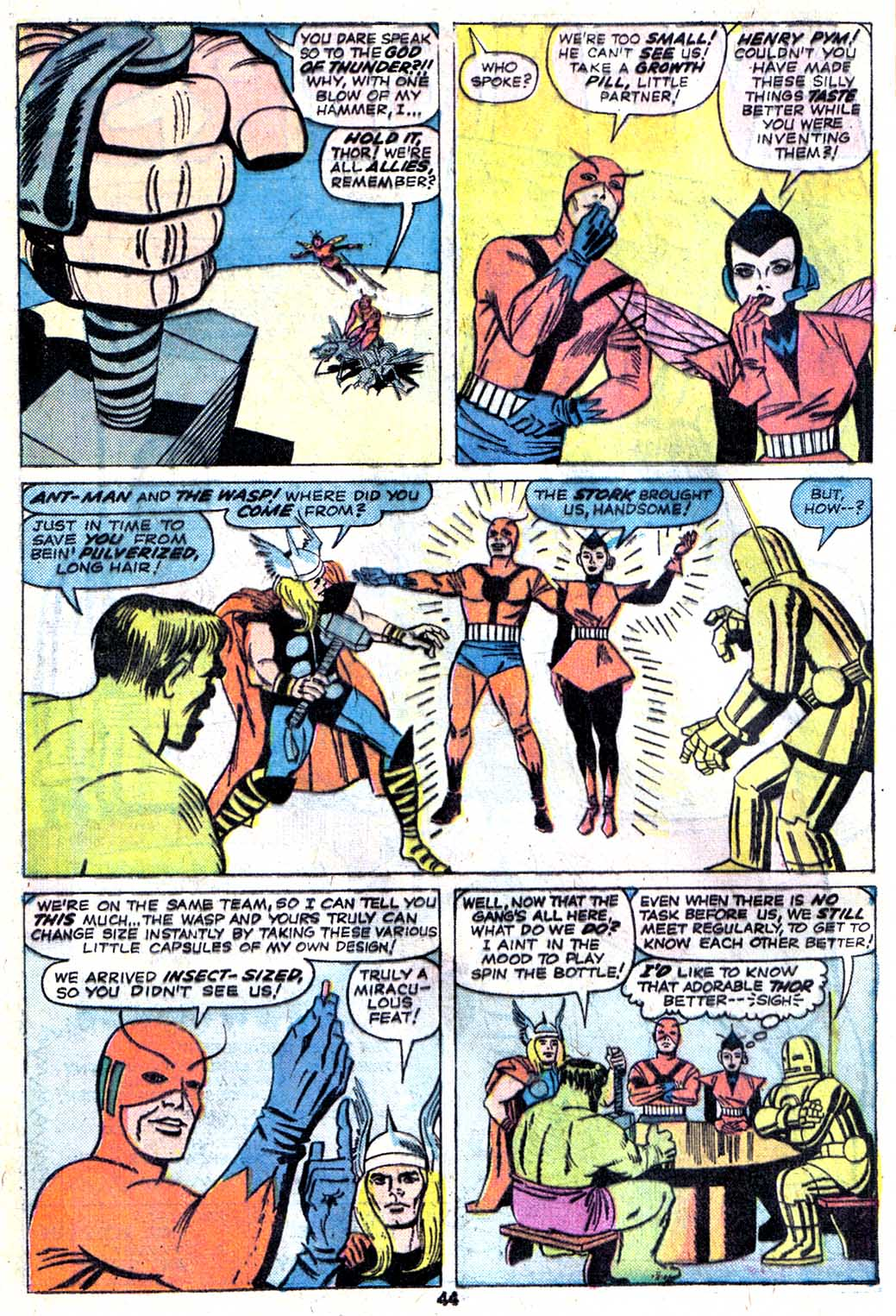 Giant-Size Avengers (1974) issue 3 - Page 46